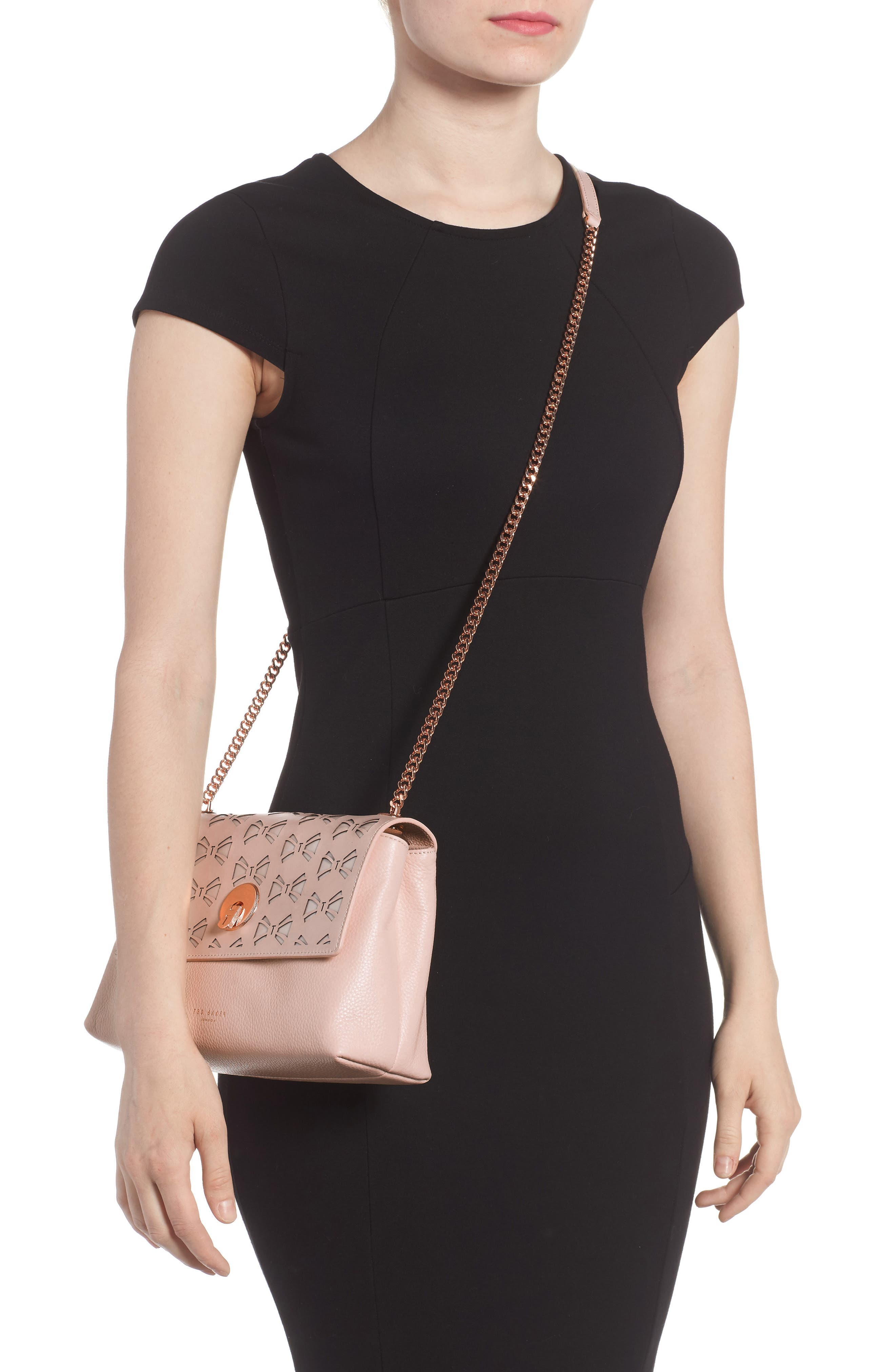 Alternate Image 2  - Ted Baker London Leather Crossbody Bag