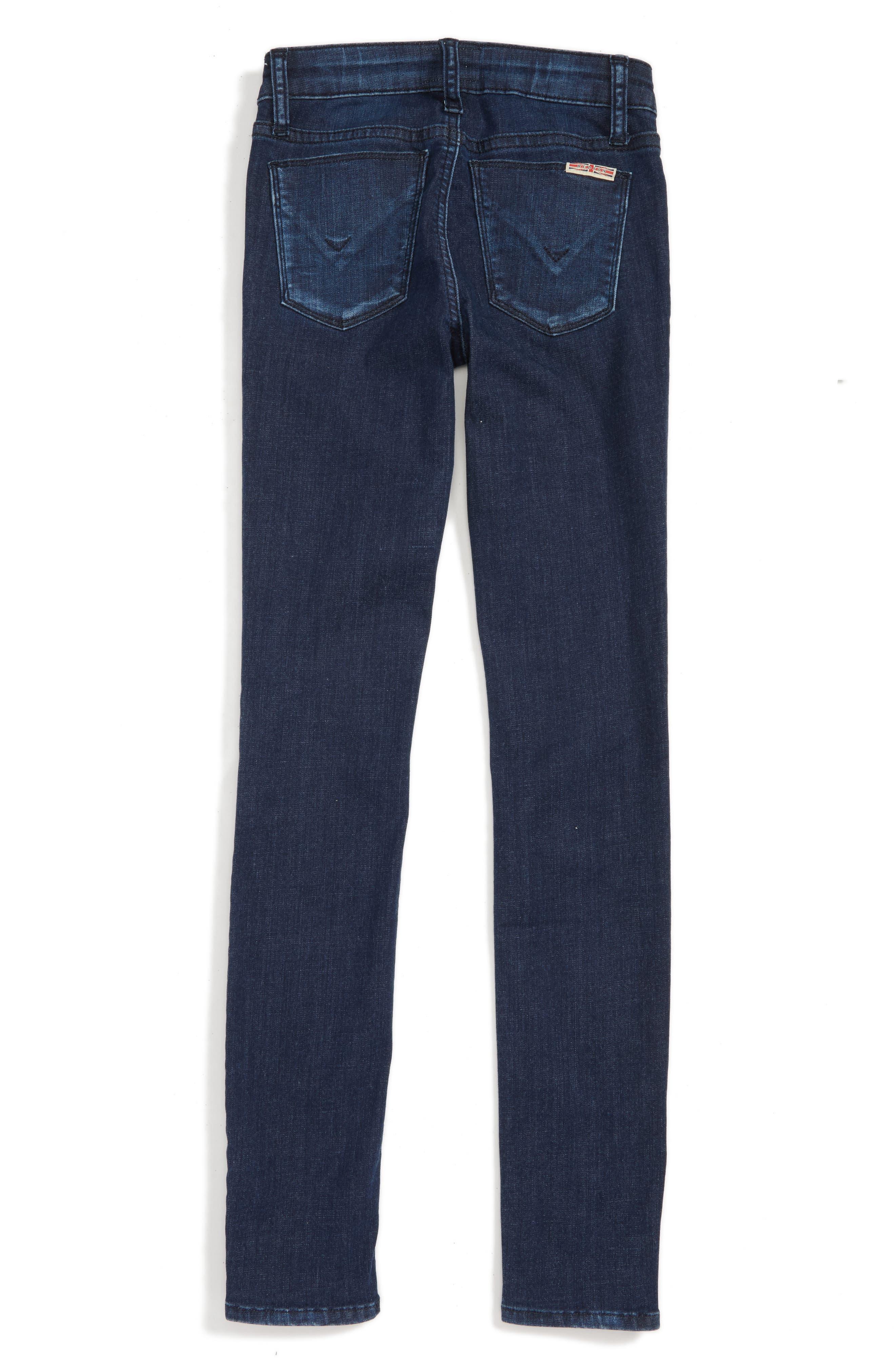 Alternate Image 3  - Hudson Kids Dolly Skinny Jeans (Big Girls)