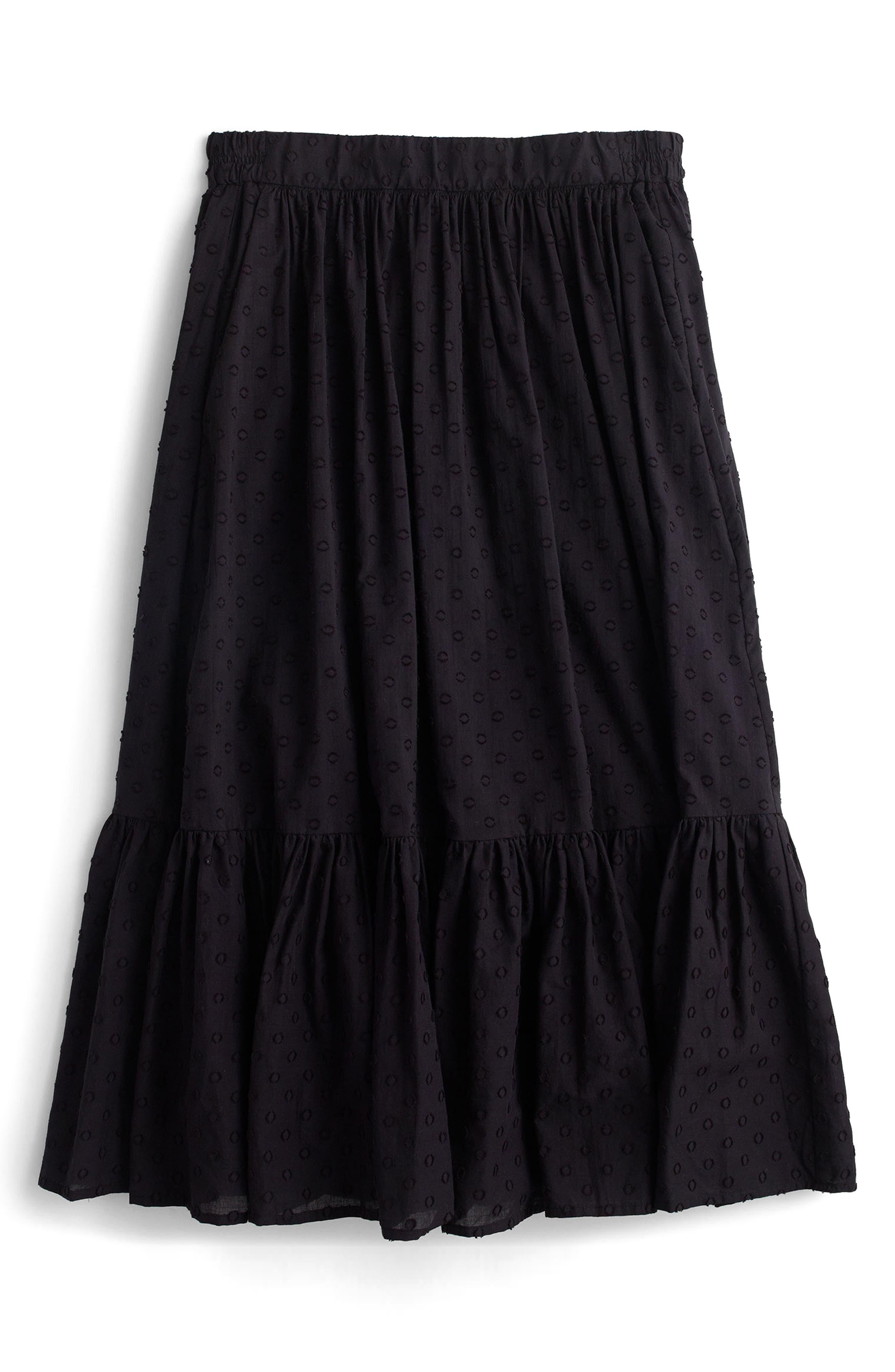 Alternate Image 3  - J.Crew Baluster Clip Dot Skirt (Regular & Petite)
