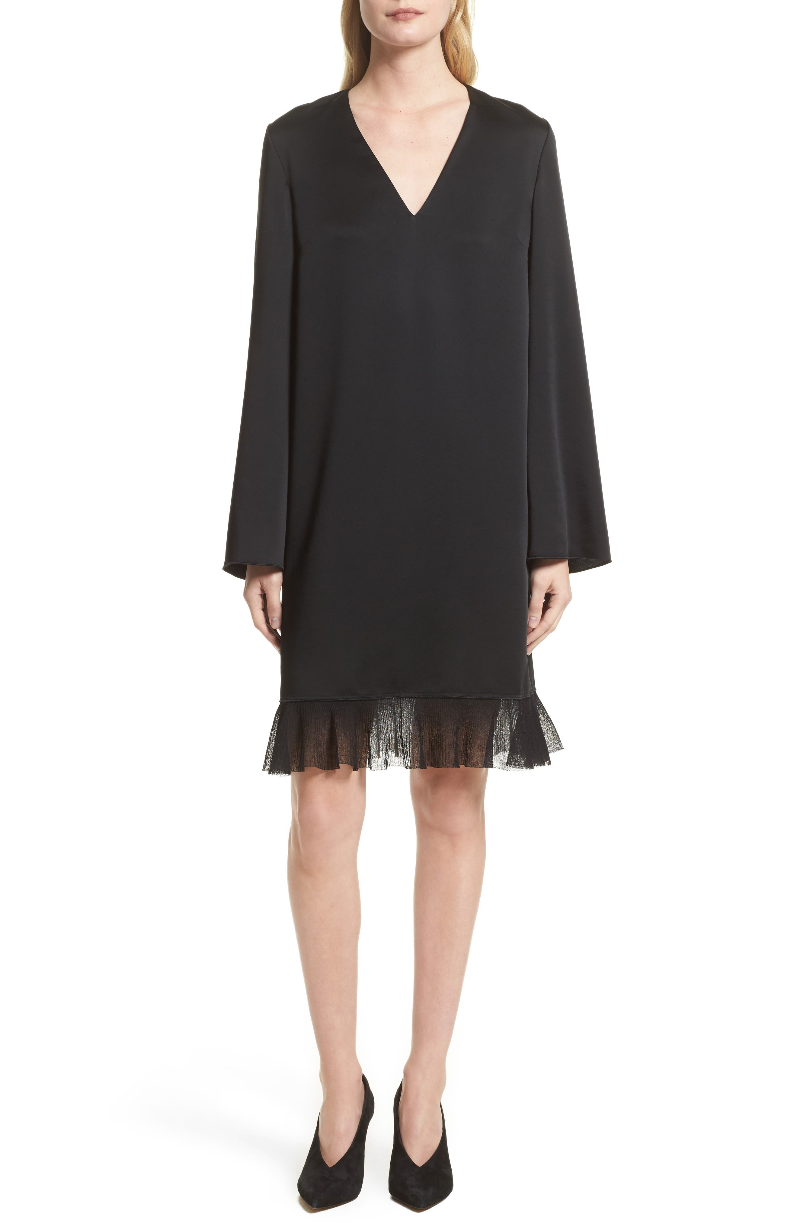 Heath Shift Dress,                             Main thumbnail 1, color,                             Black