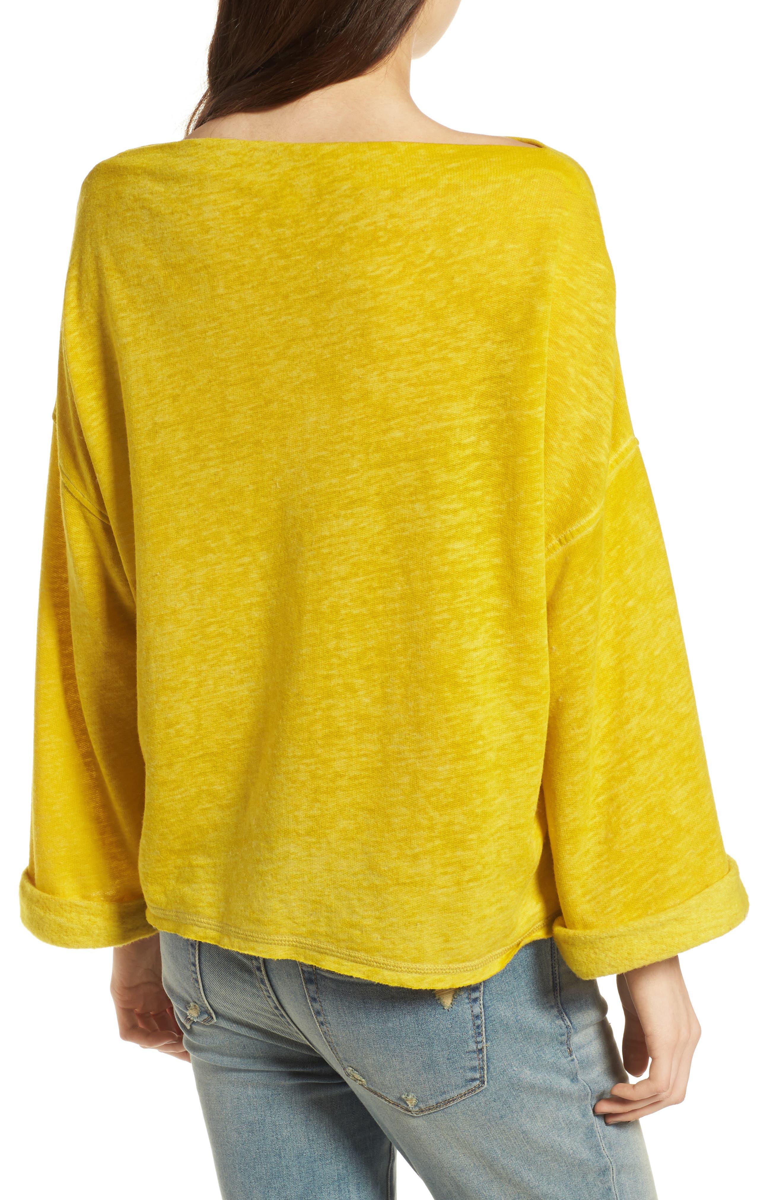 Alternate Image 2  - Treasure & Bond Slouchy Pullover
