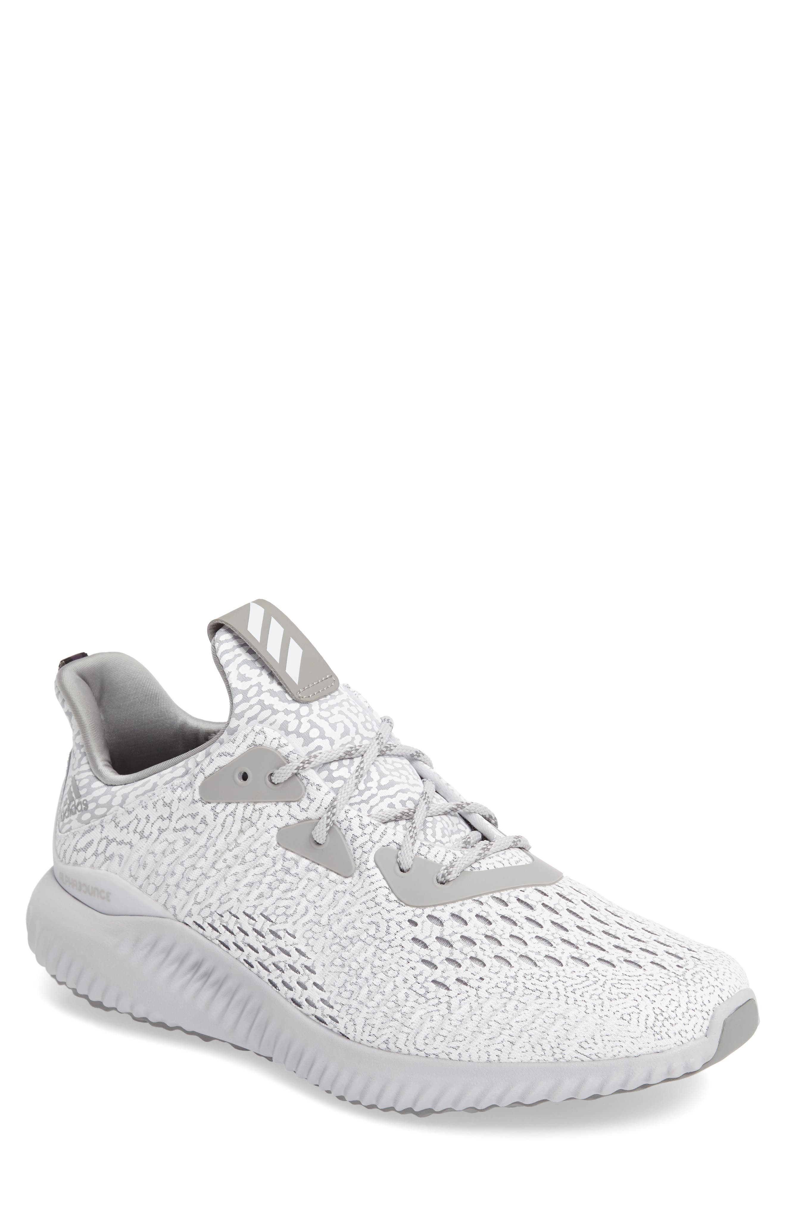 AlphaBounce Aramis Sneaker,                         Main,                         color, Clear Grey/Core Black