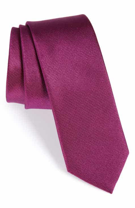 57ae7e1e74c3 The Tie Bar Solid Silk Tie