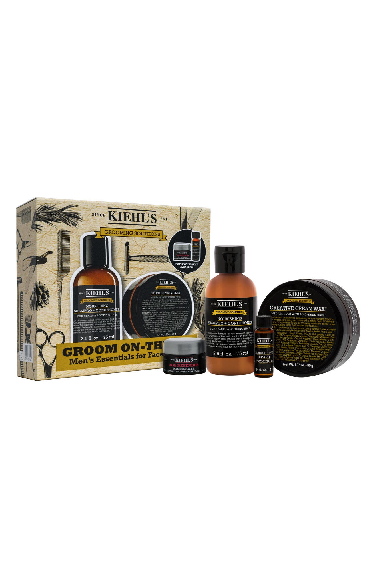 Alternate Image 1 Selected - Kiehl's Since 1851 Men's Grooming Set