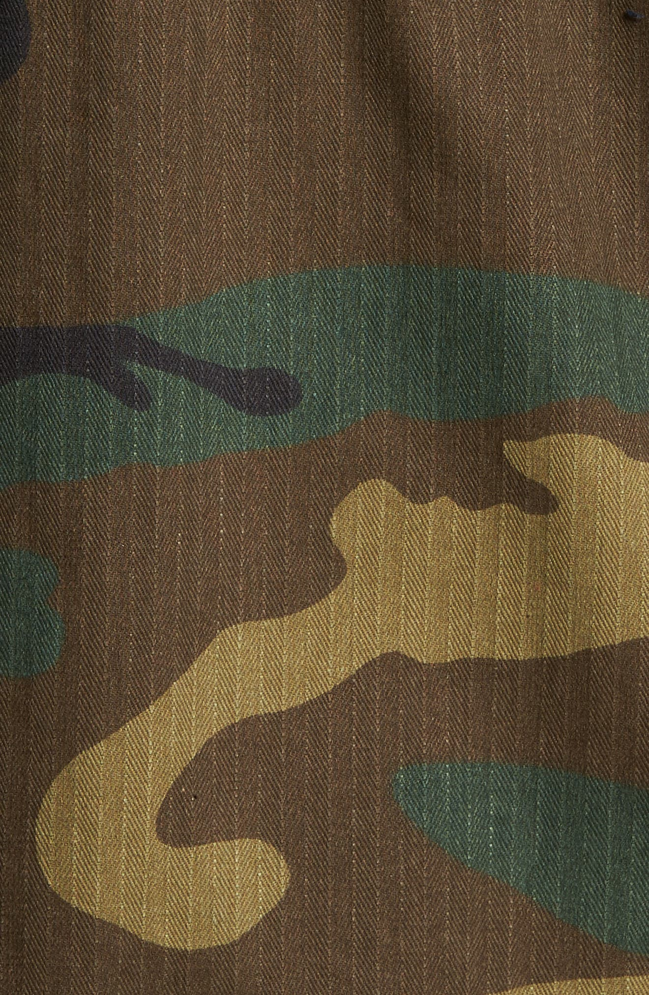 Alternate Image 5  - Alpha Industries Dragon Tour Camo Field Jacket
