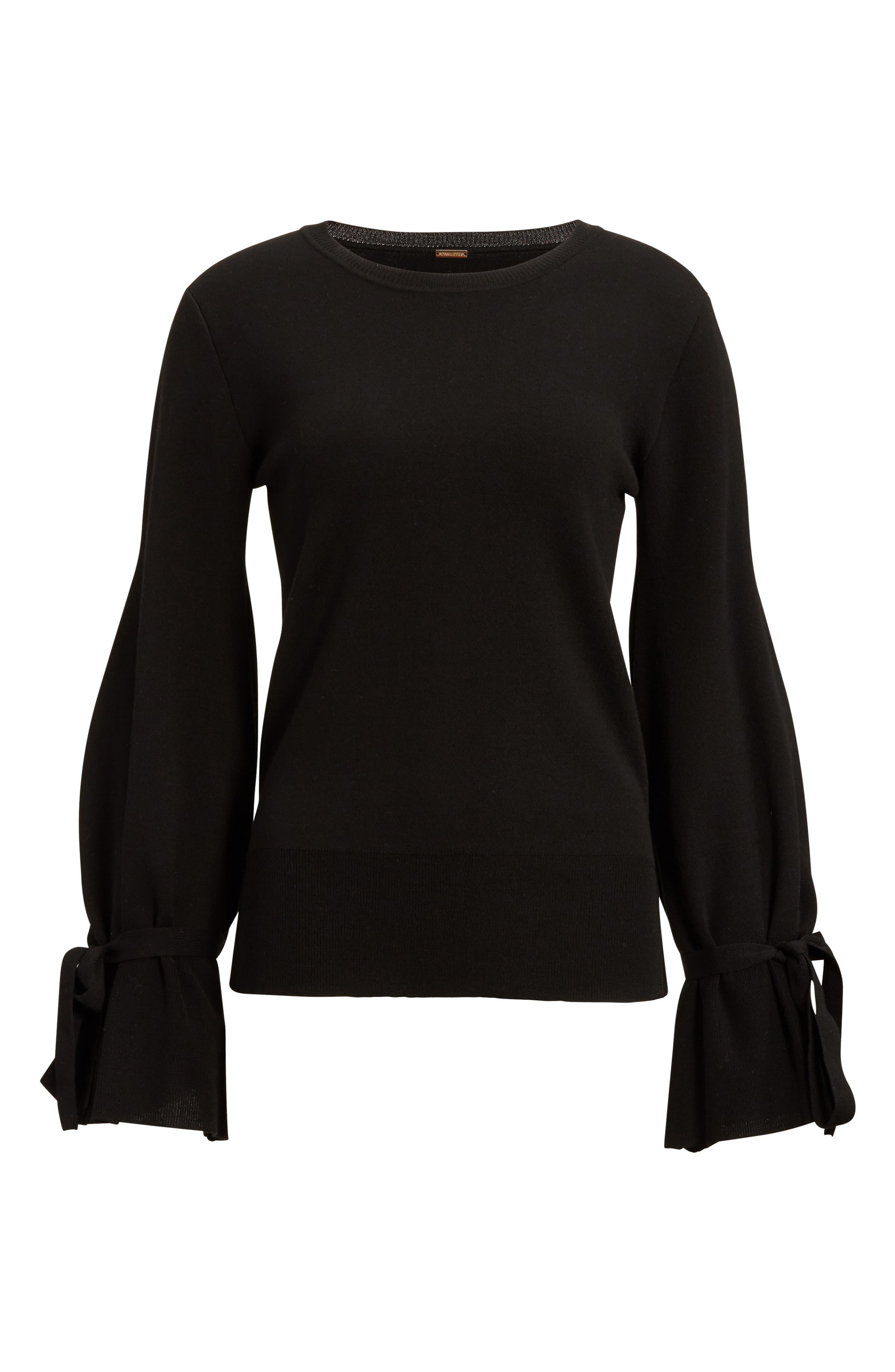 Alternate Image 4  - Adam Lippes Merino Wool Bell Sleeve Sweater