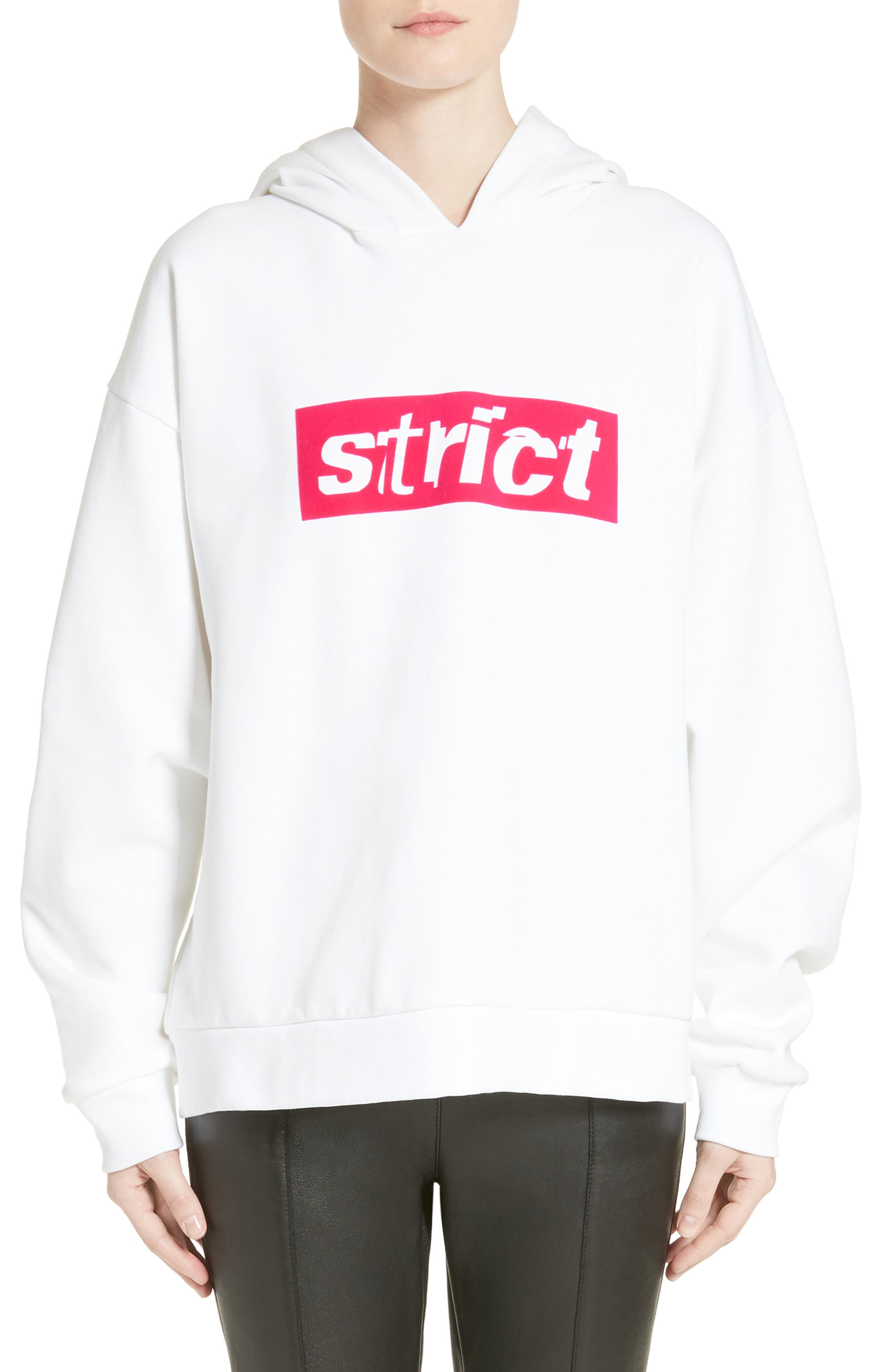 Alexander Wang Graphic Hooded Sweatshirt