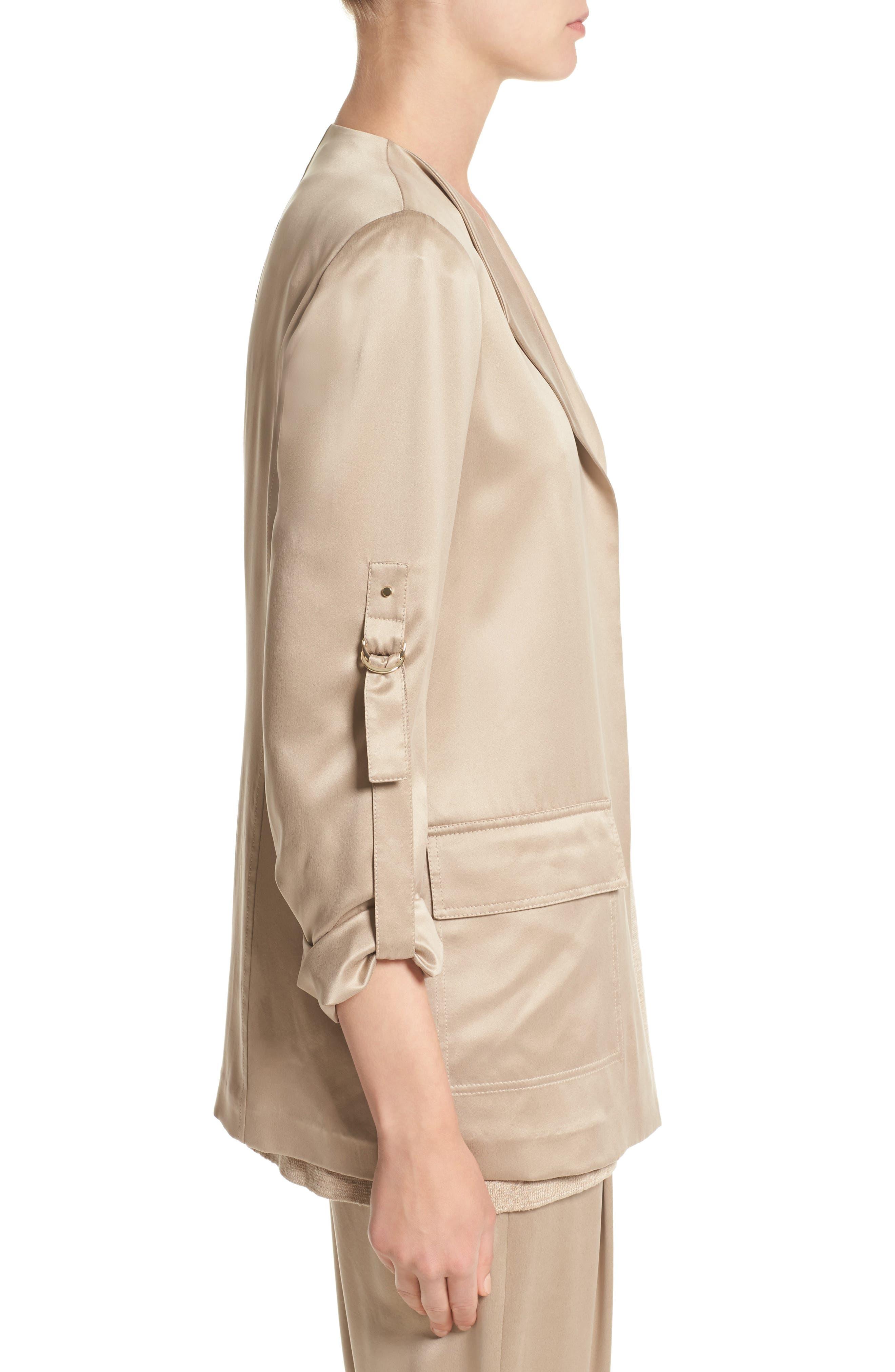 Alternate Image 4  - Lafayette 148 New York Halden Silk Jacket