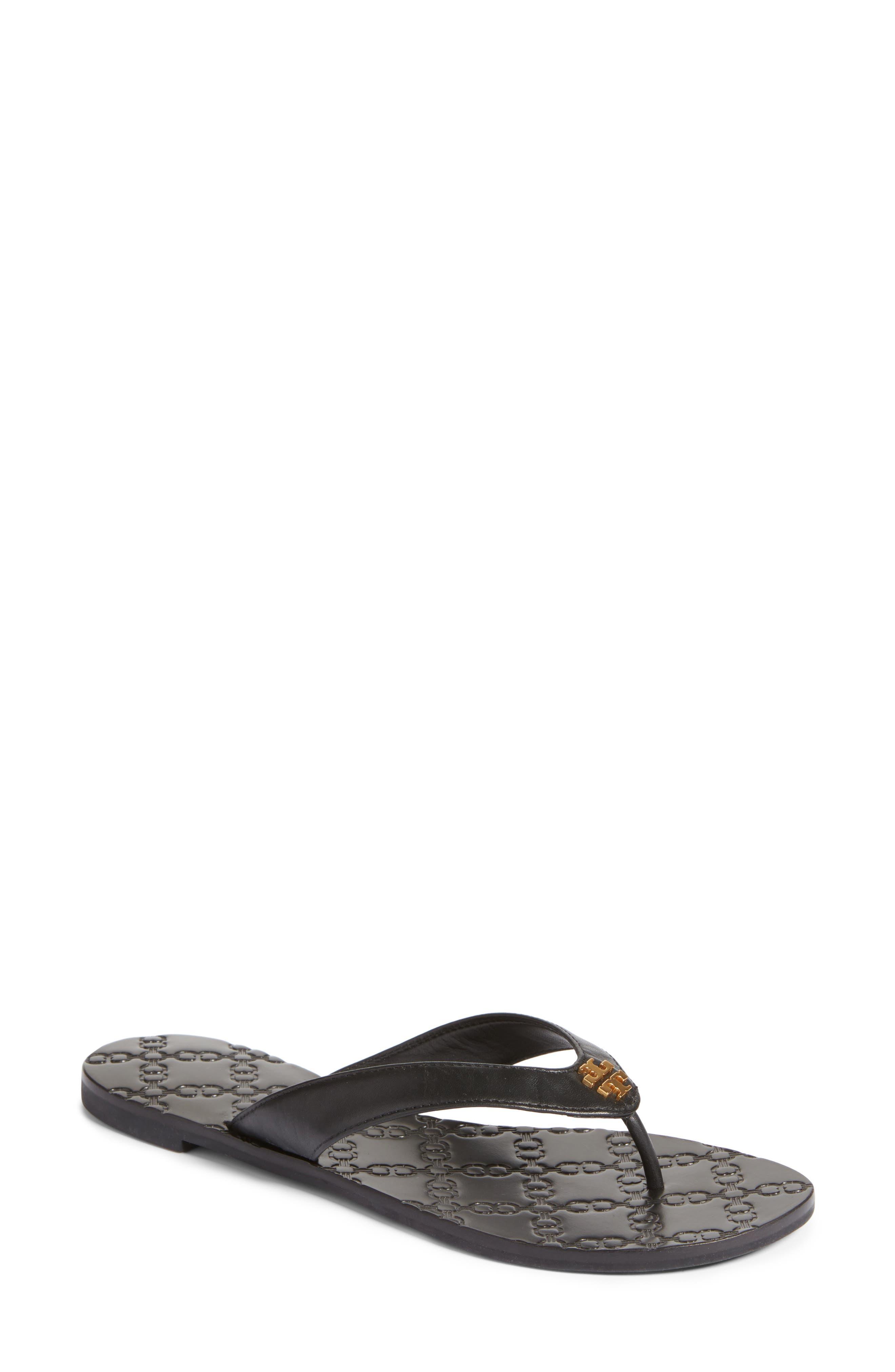 Monroe Flip Flop,                         Main,                         color, Black