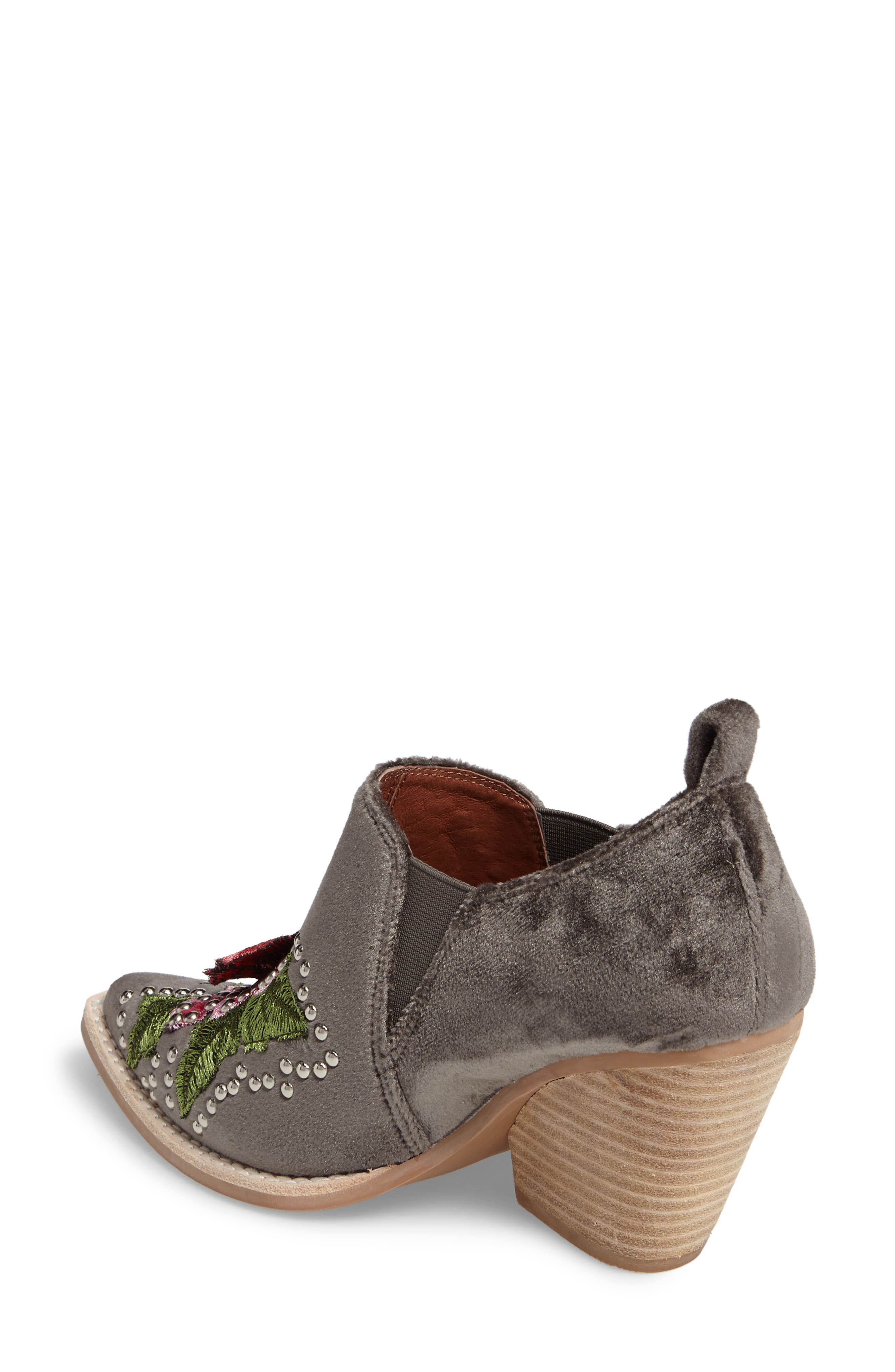 Alternate Image 2  - Jeffrey Campbell Roseola Studded Appliqué Bootie (Women)