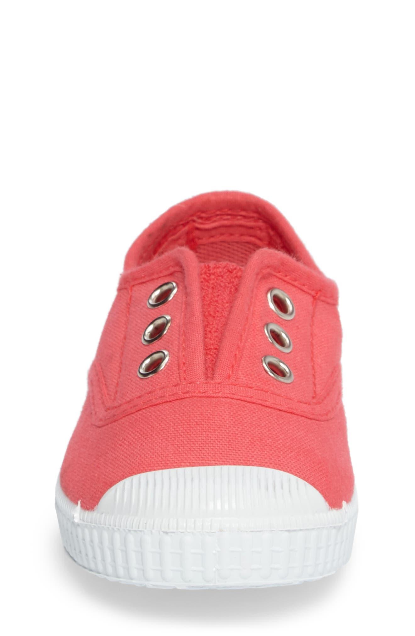 Alternate Image 4  - Cienta Laceless Slip-On Sneaker (Walker & Toddler)