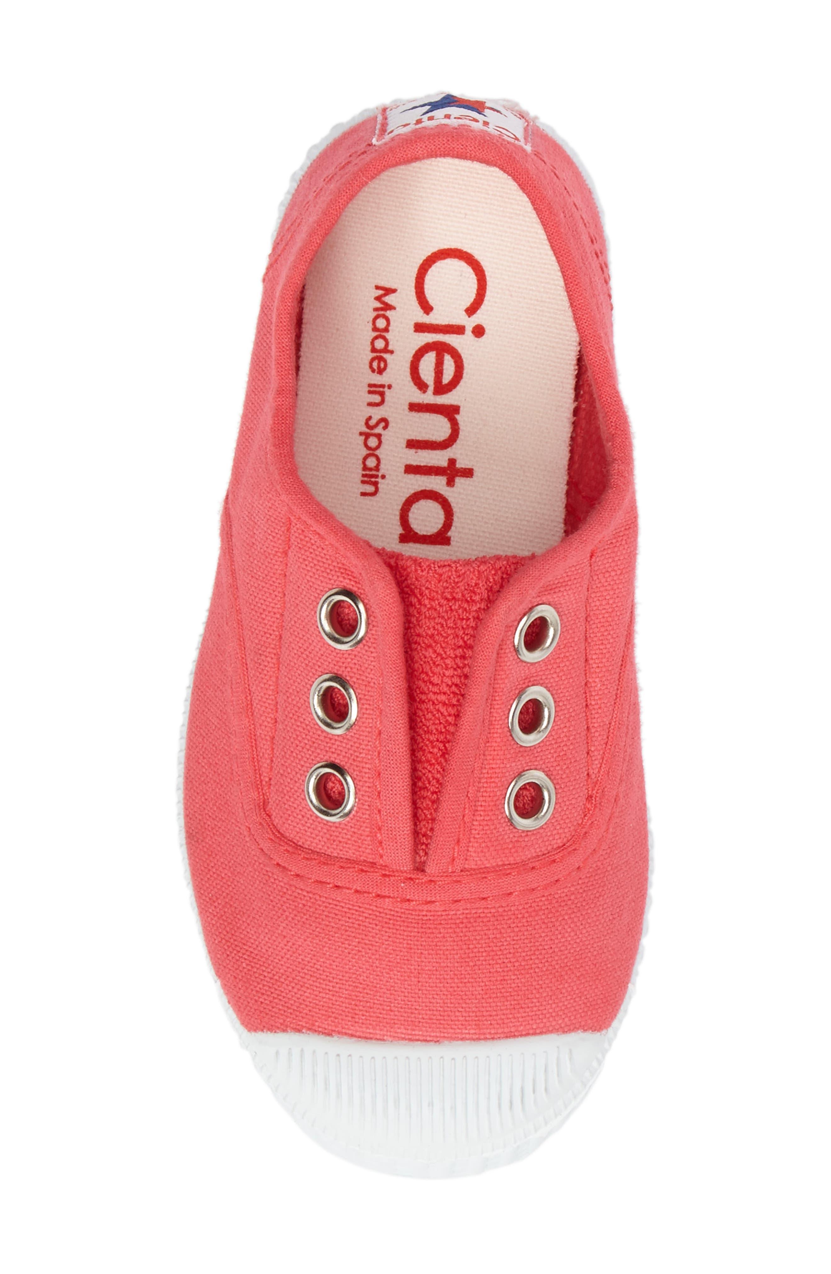 Alternate Image 5  - Cienta Laceless Slip-On Sneaker (Walker & Toddler)
