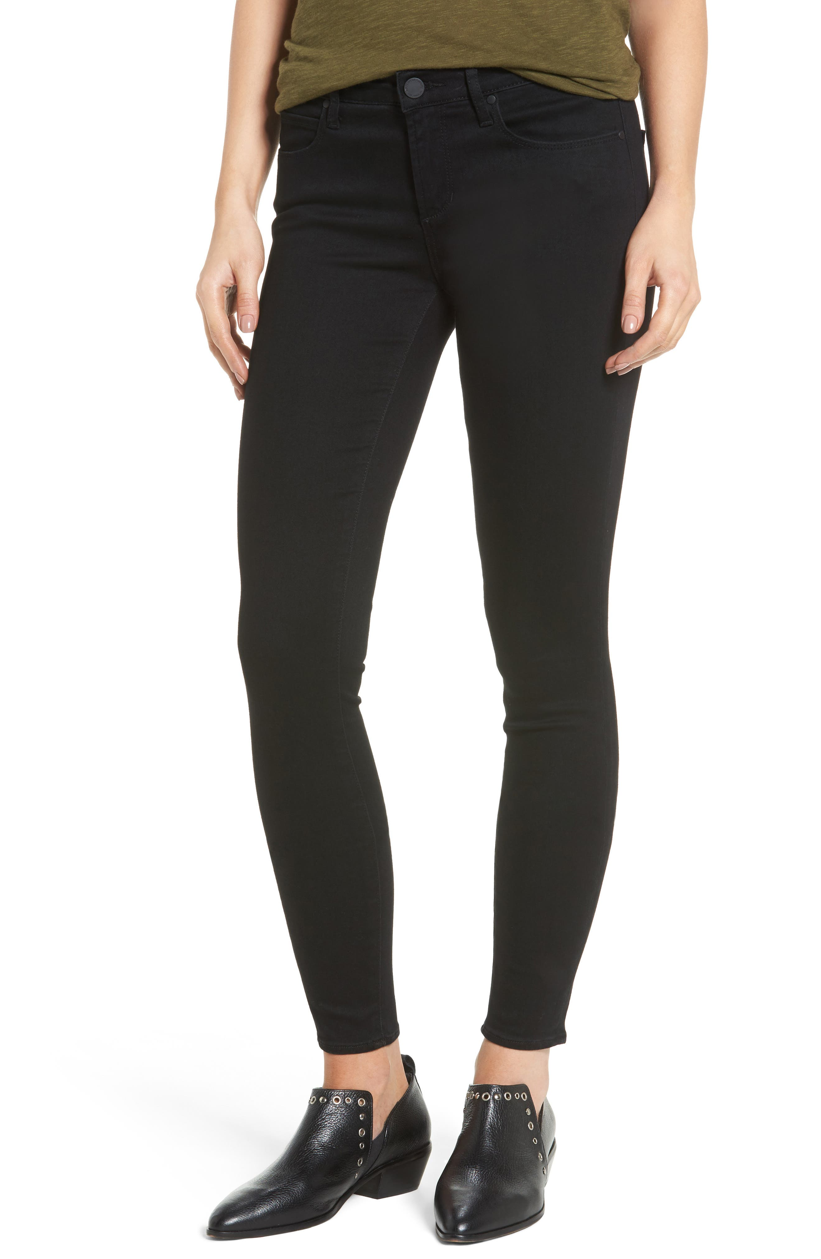 Articles of Society Sarah Ankle Skinny Jeans (Asphalt)
