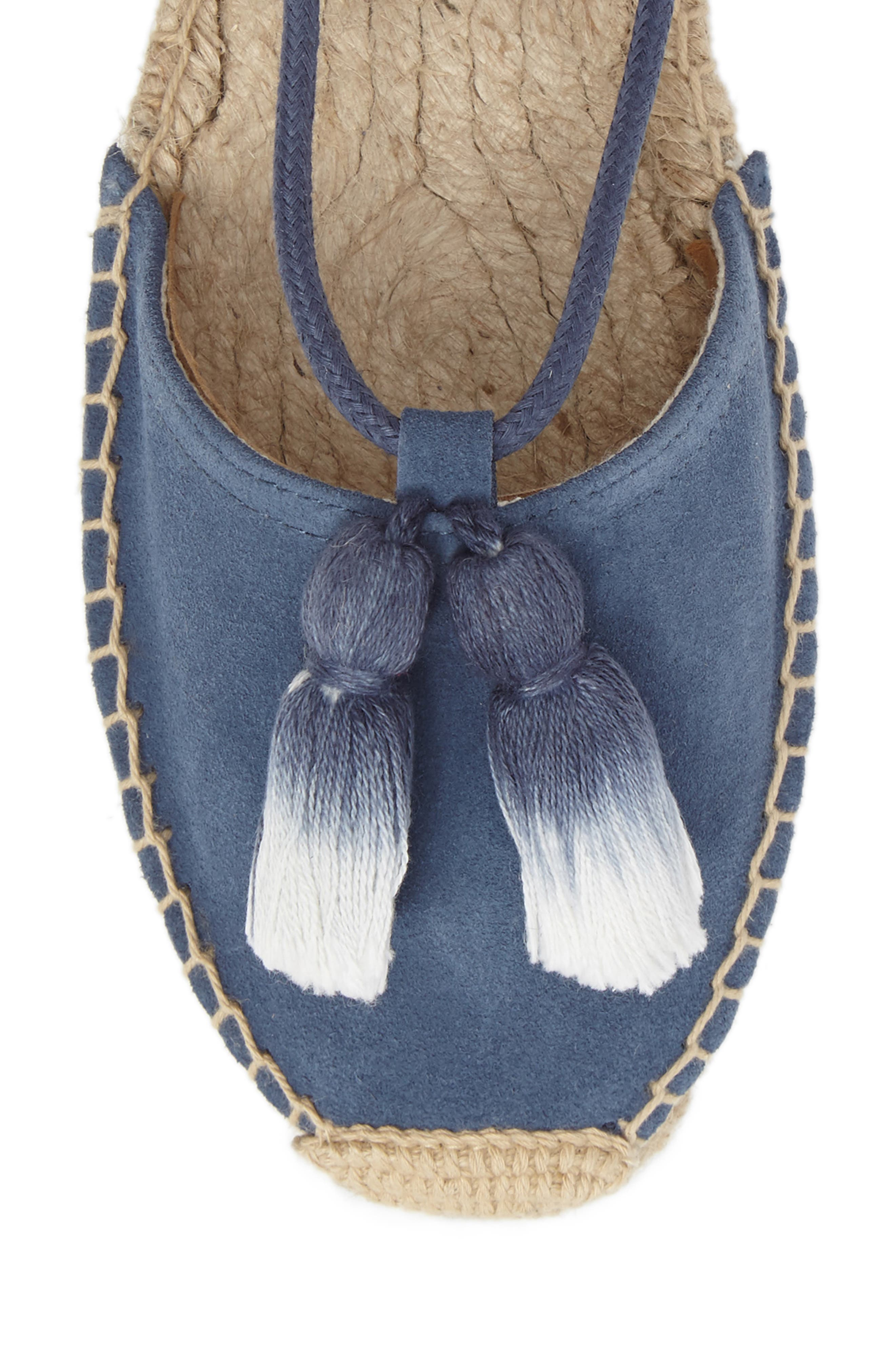 Alternate Image 5  - Soludos Tassel Lace-Up Espadrille (Women)