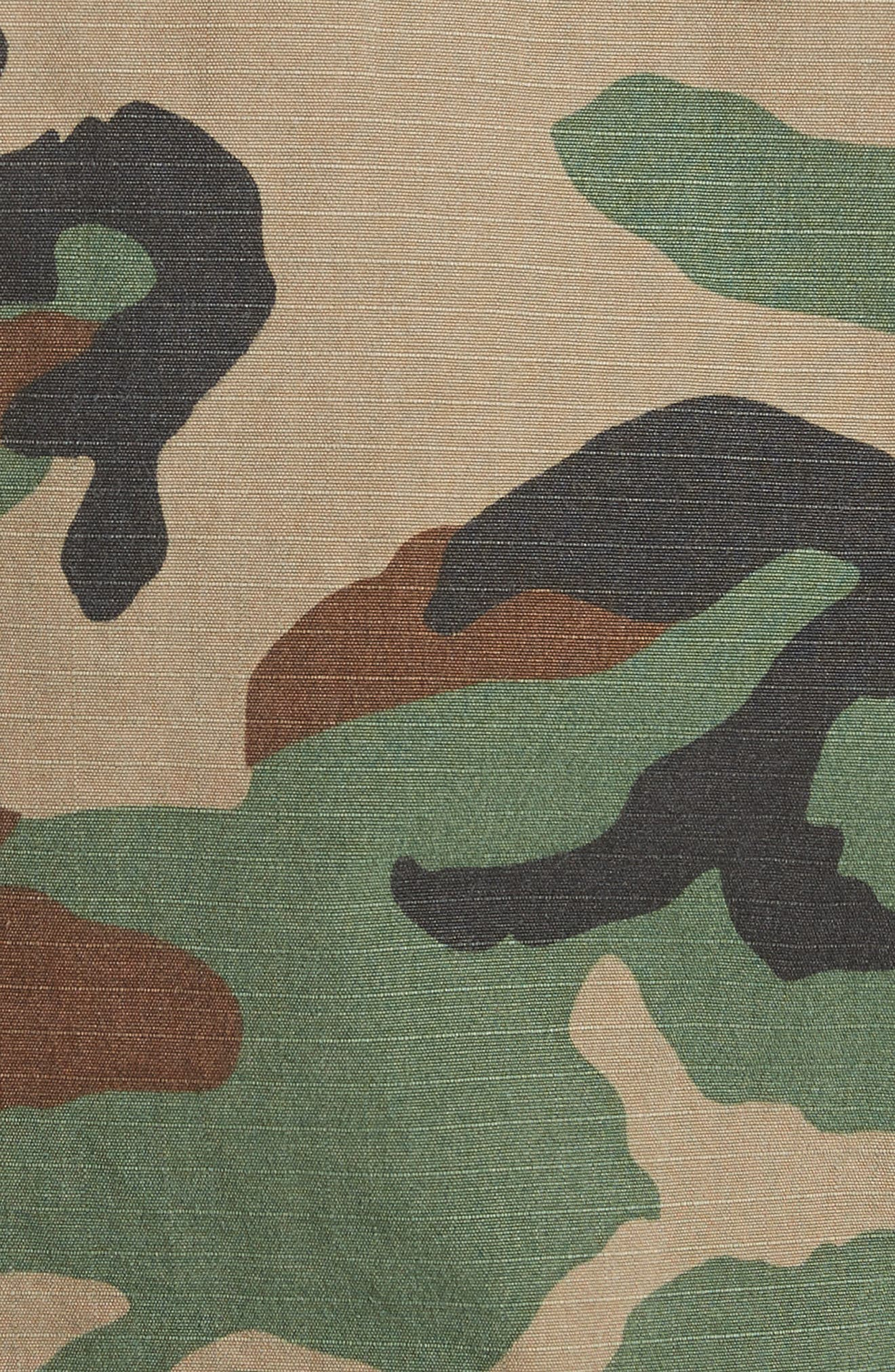 Alternate Image 5  - Harvey Faircloth Vintage Woodland Camo Jacket