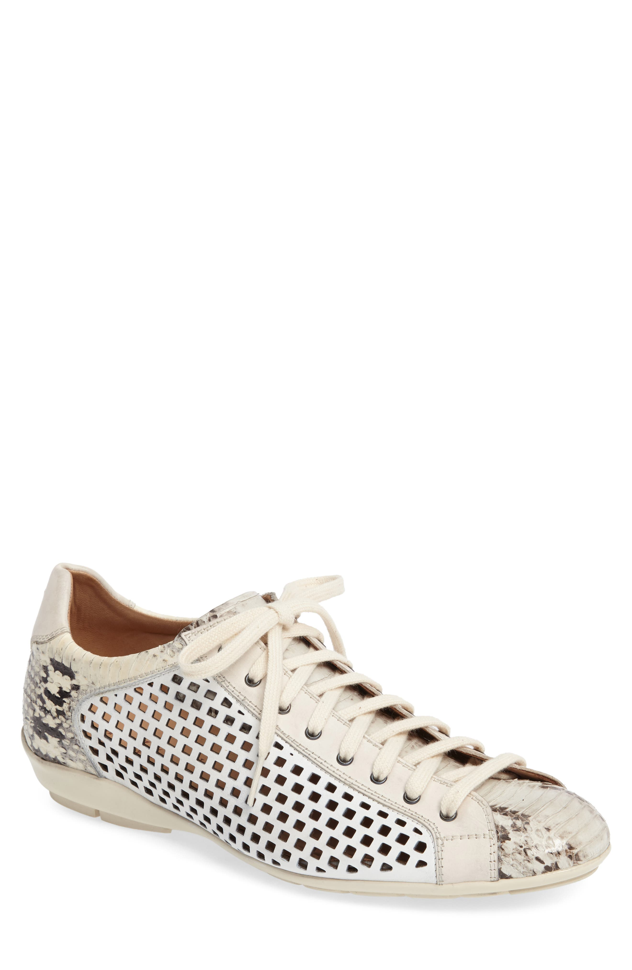 Scharf Sneaker,                             Main thumbnail 1, color,                             Bone
