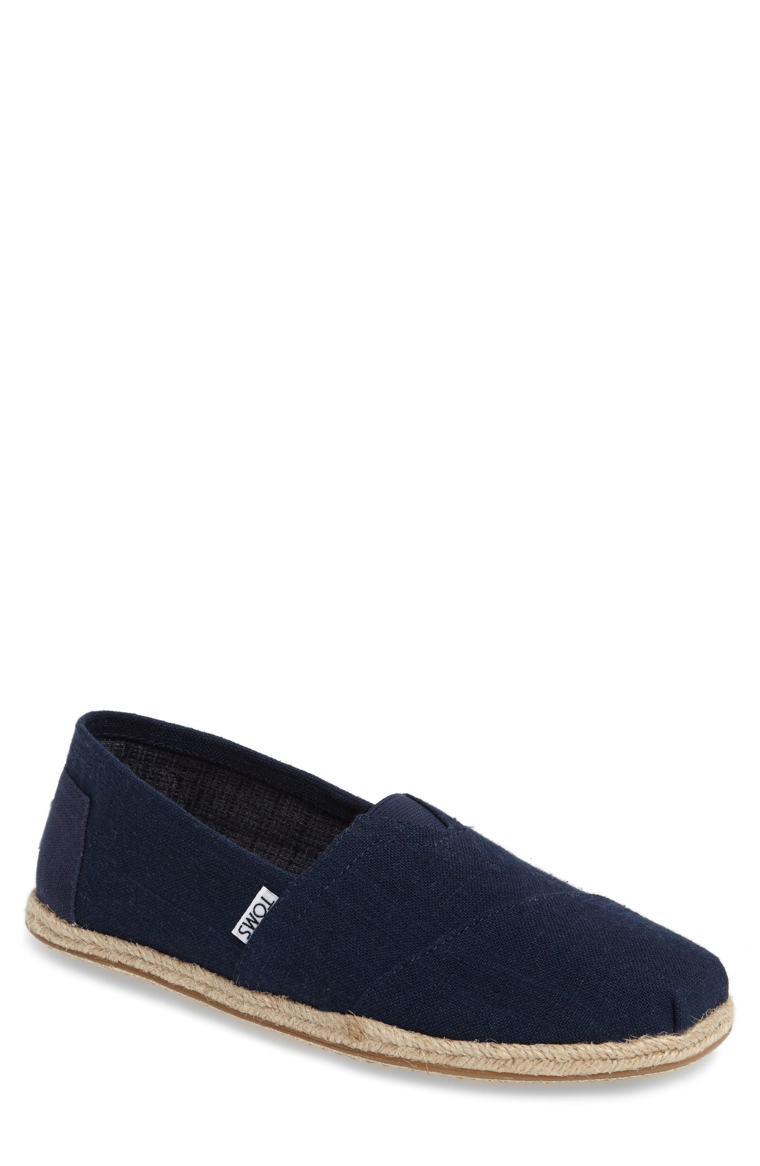 Alternate Image 1 Selected - TOMS 'Classic' Canvas Slip-On (Men)