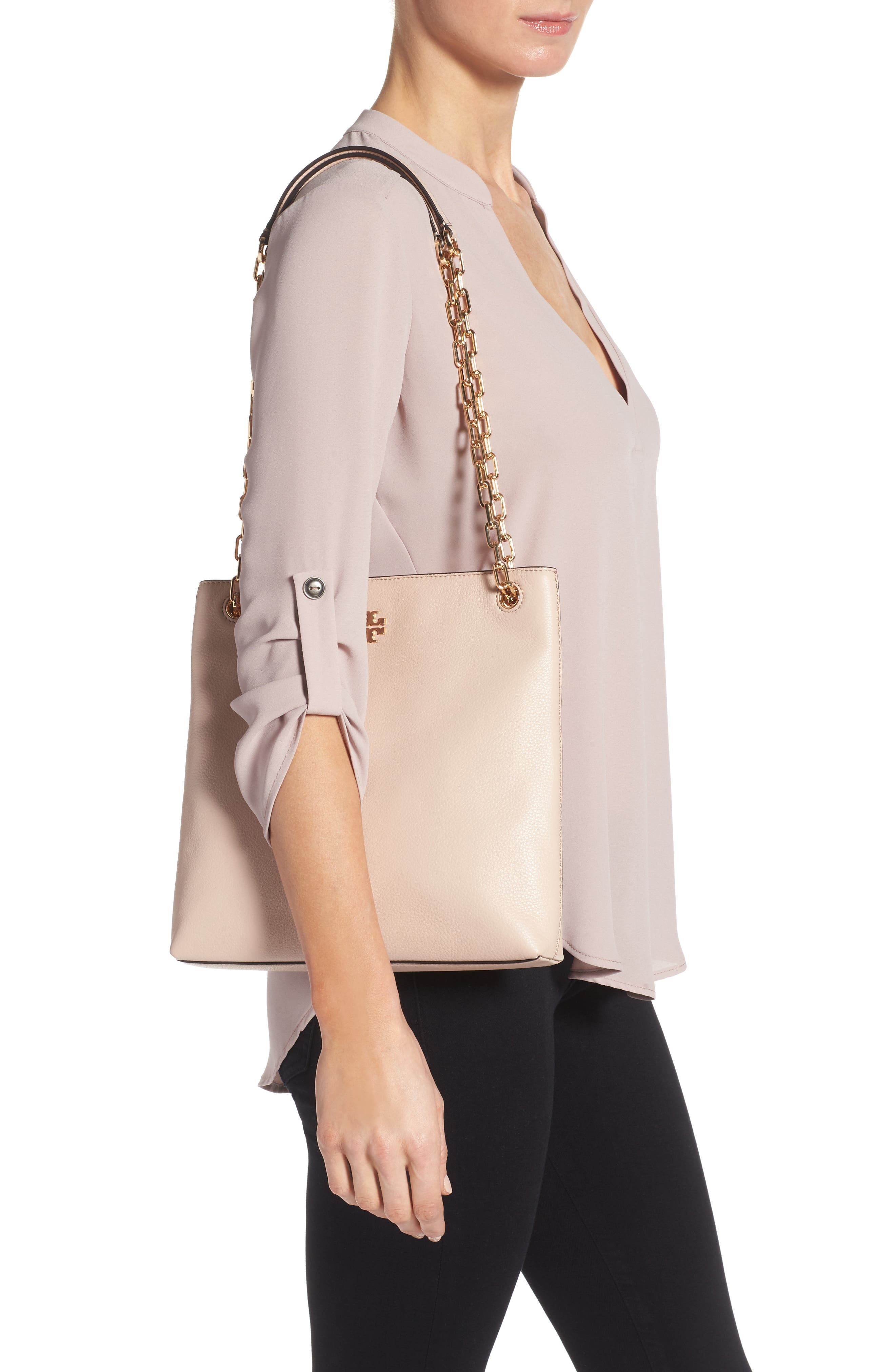 Frida Swingpack Leather Crossbody Bag,                             Alternate thumbnail 2, color,                             Light Oak