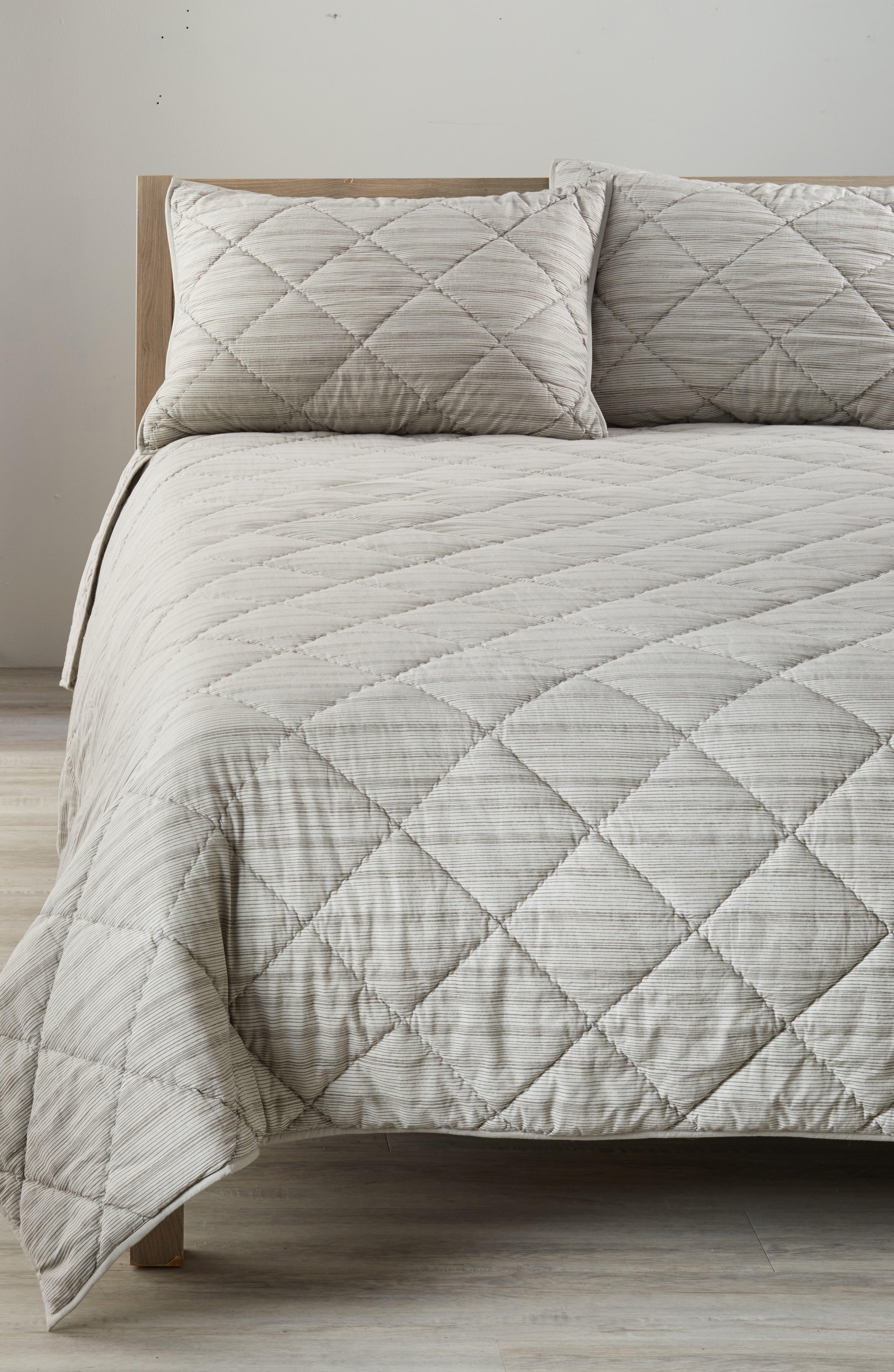 Nordstrom at Home Diamond Stripe Comforter