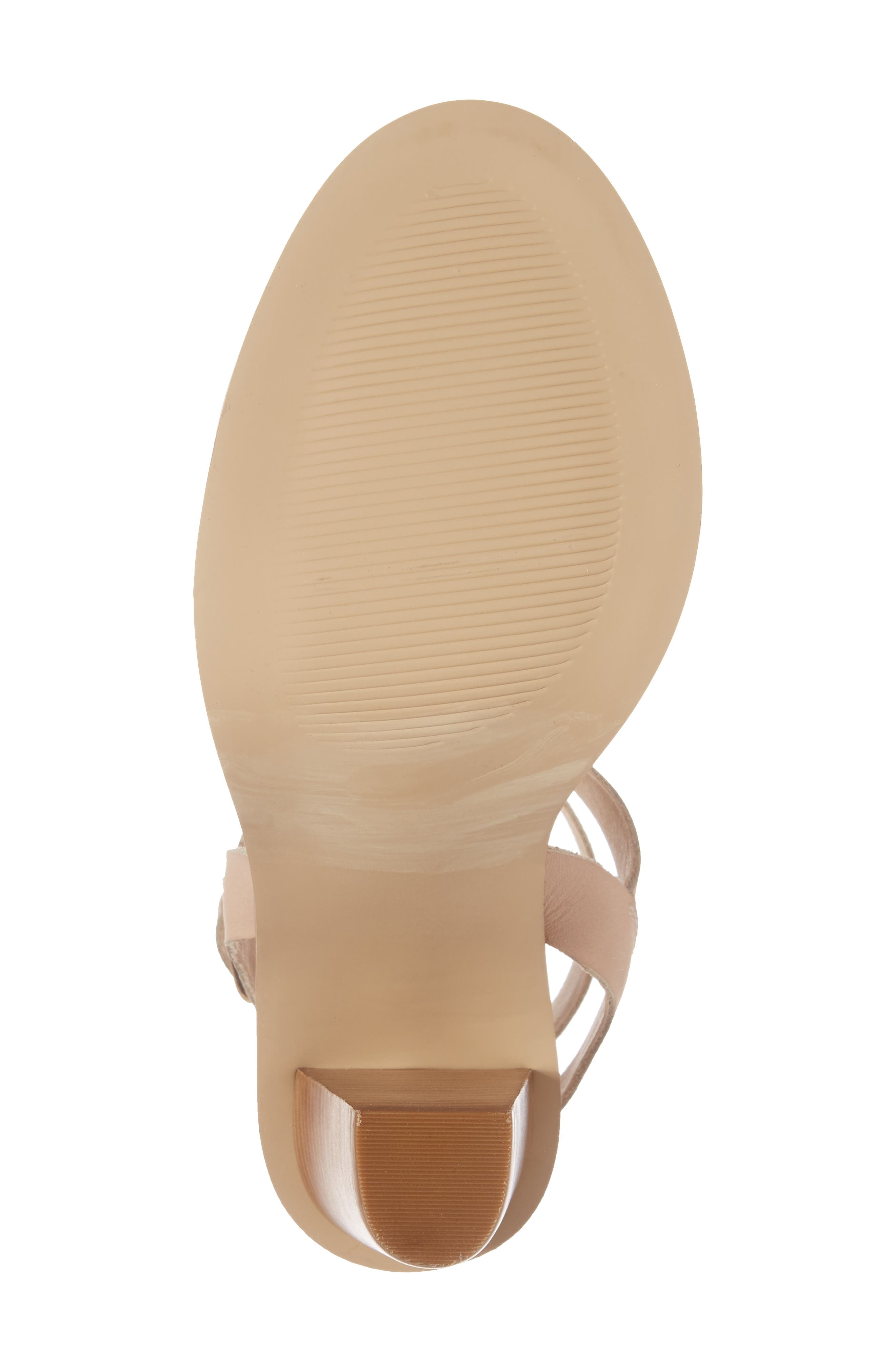 Alternate Image 6  - Very Volatile Poshy Ankle Wrap Sandal (Women)