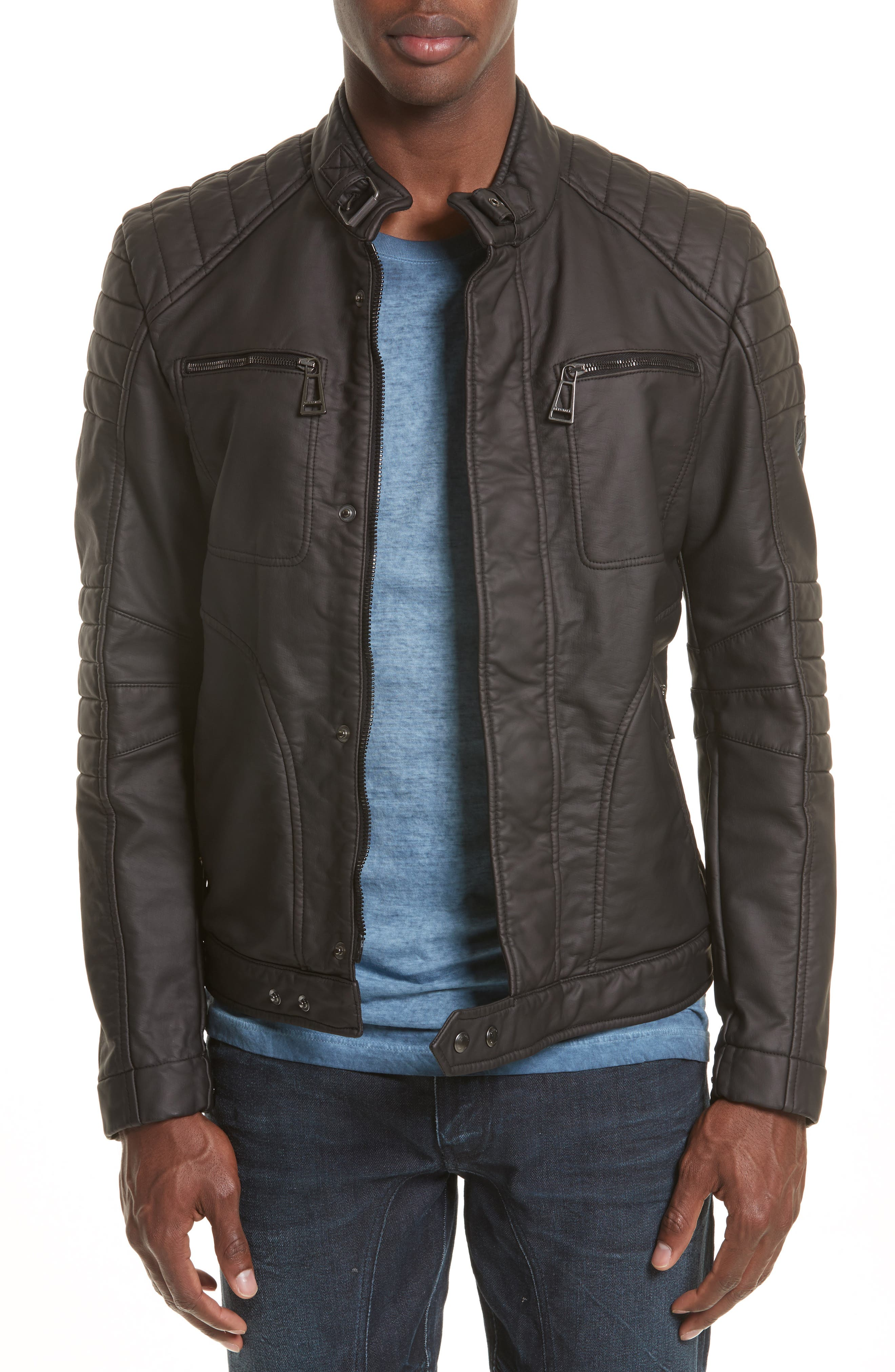 Alternate Image 1 Selected - Belstaff Weybridge Waxed Cotton Jacket