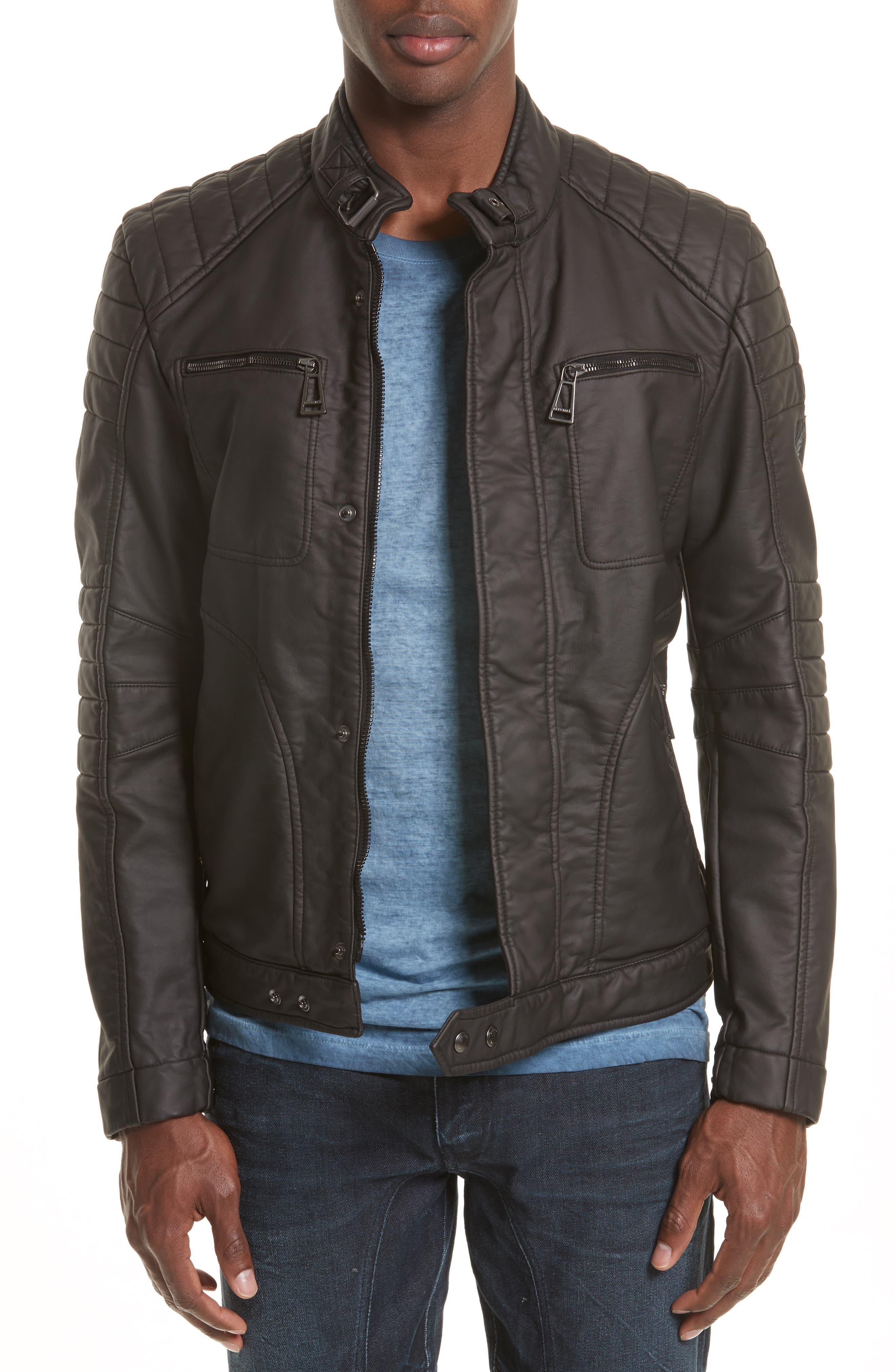 Weybridge Waxed Cotton Jacket,                         Main,                         color, Black