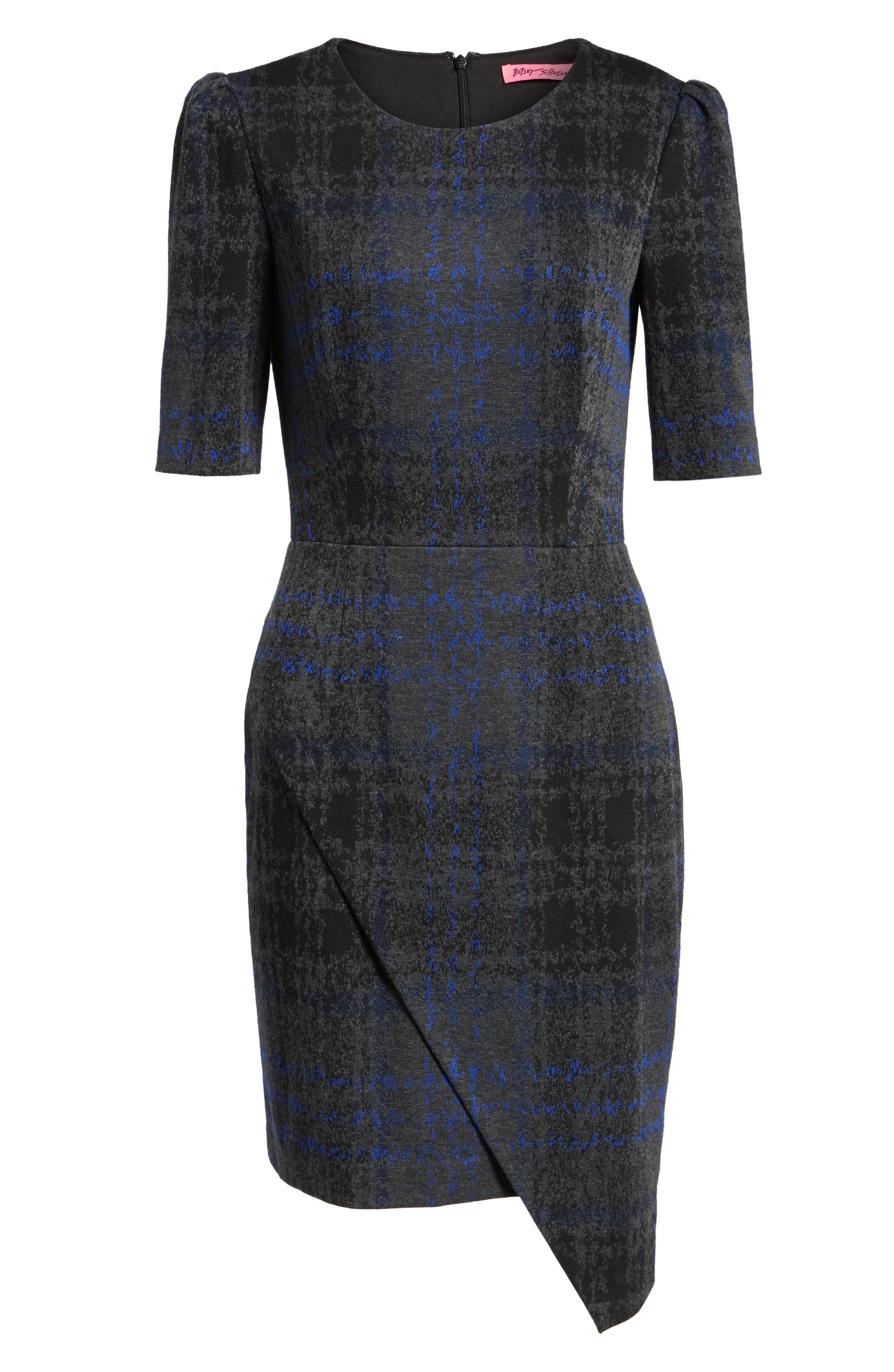 Alternate Image 7  - Betsey Johnson Asymmetrical Dress