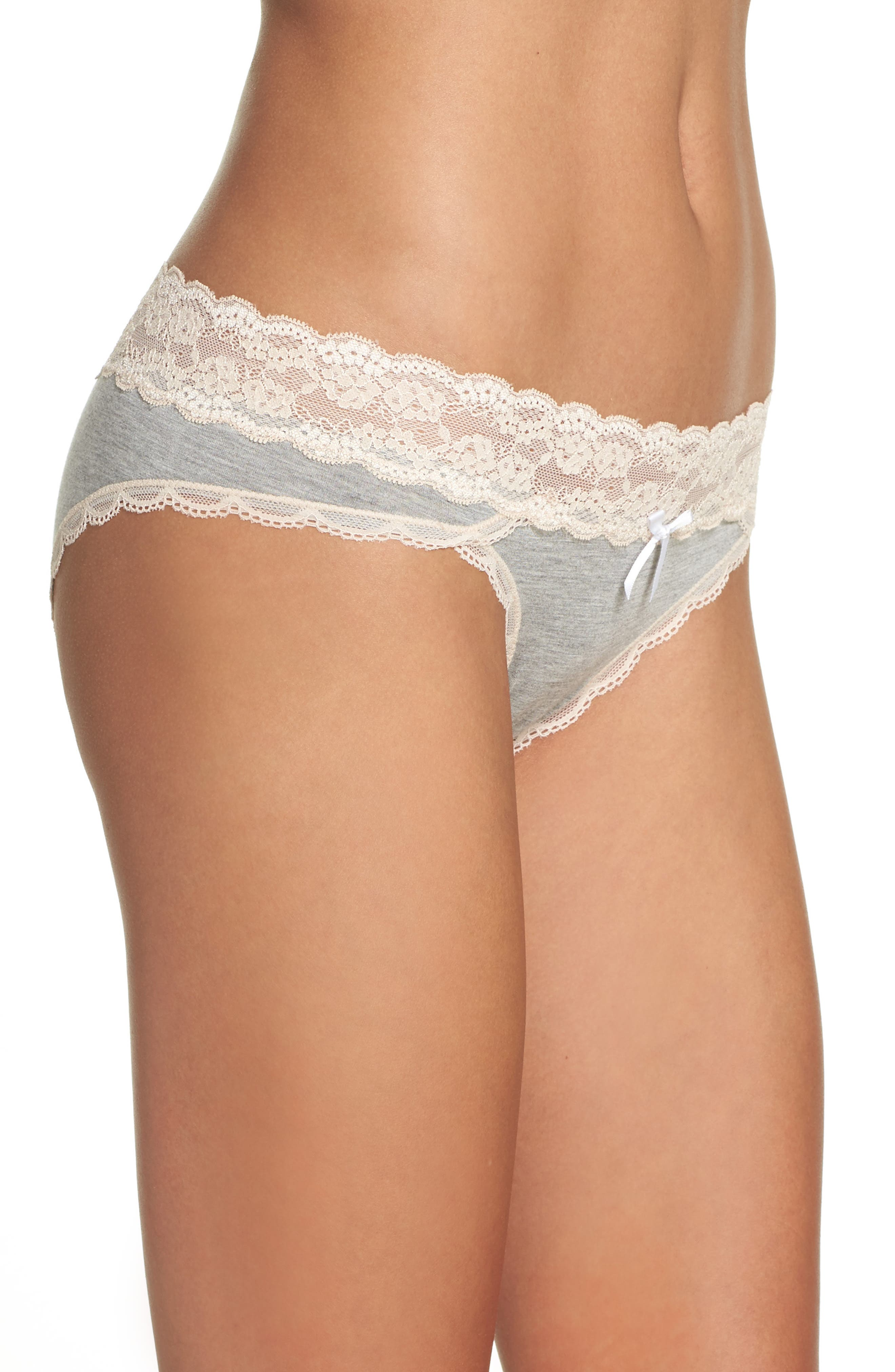 Alternate Image 4  - Honeydew Intimates 3-Pack Hipster Panties