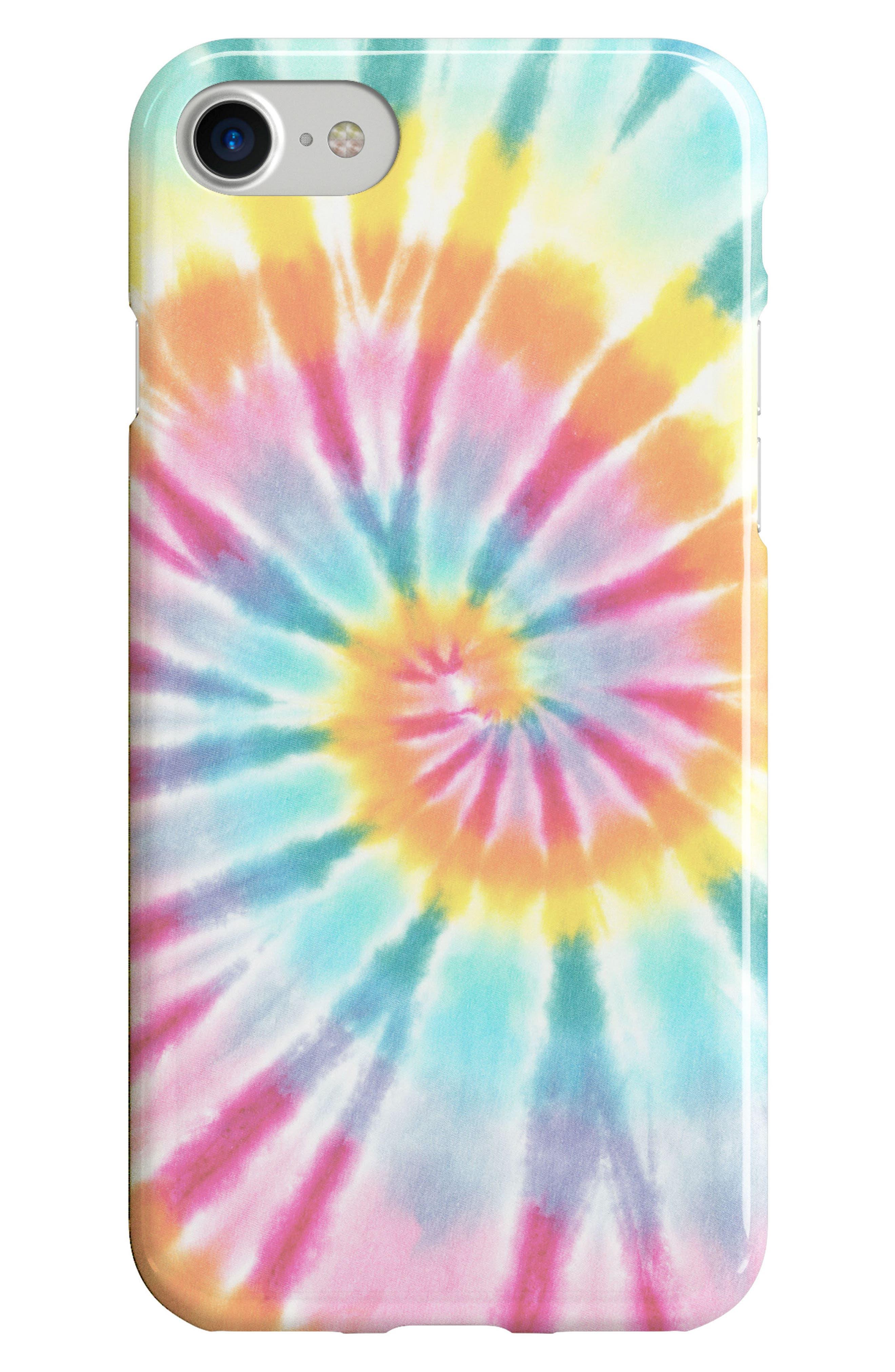 Tie Dye iPhone 6/6s/7/8 Case,                             Main thumbnail 1, color,                             Multi