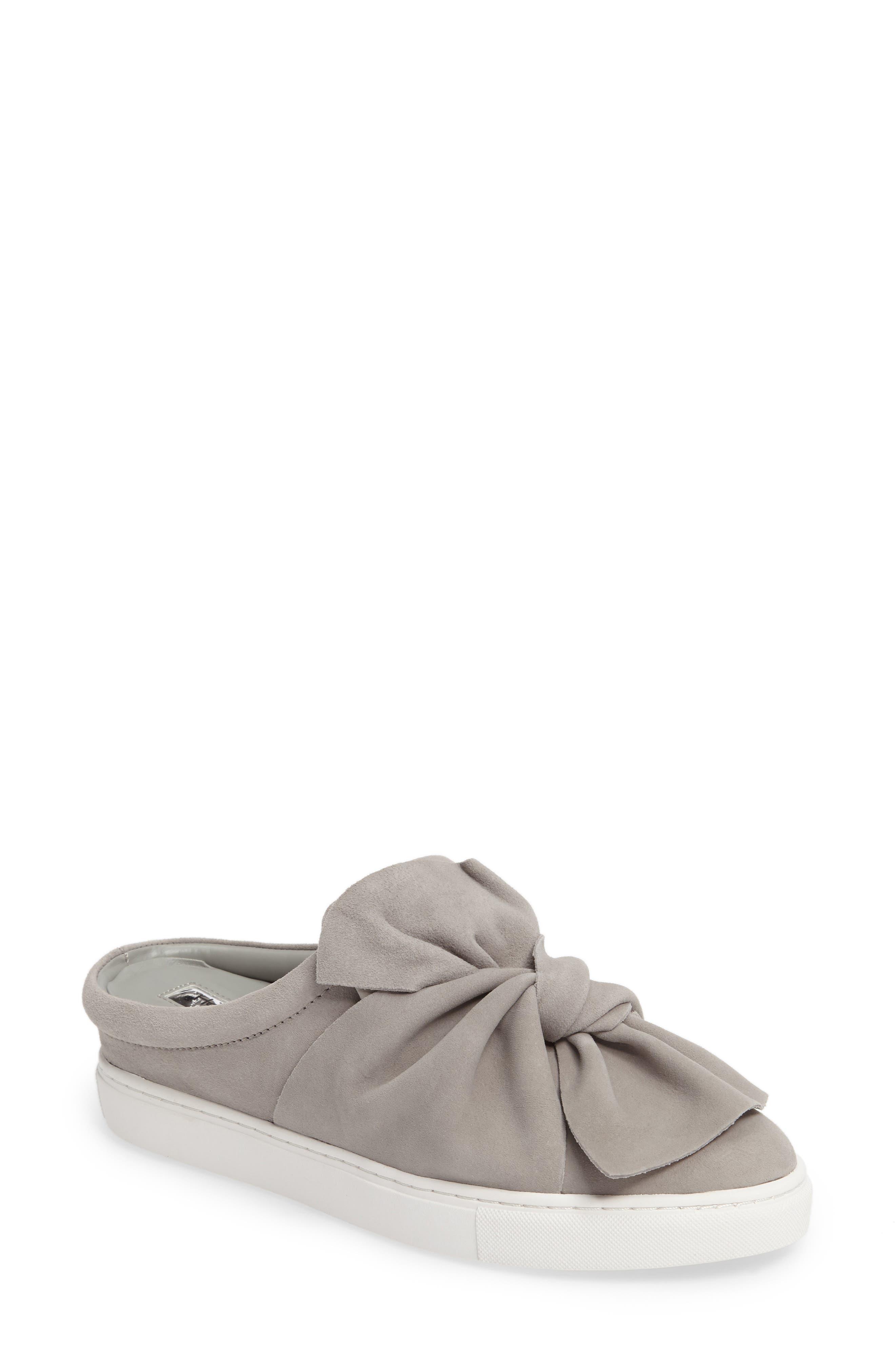 Main Image - Halogen® Manny Knotted Slip-On Sneaker (Women)