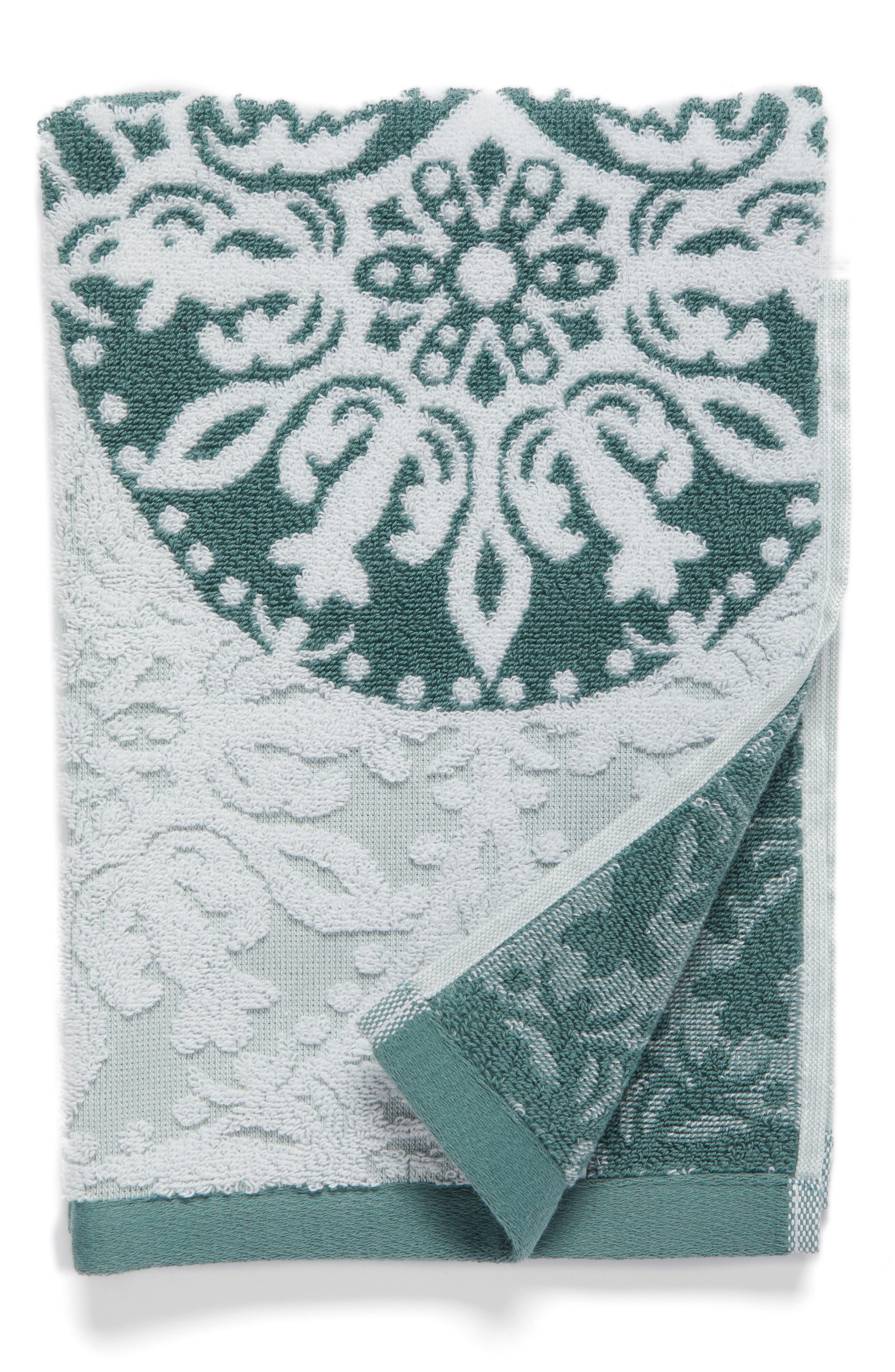 Alternate Image 1 Selected - Nordstrom at Home Fan Ombré Jacquard Hand Towel