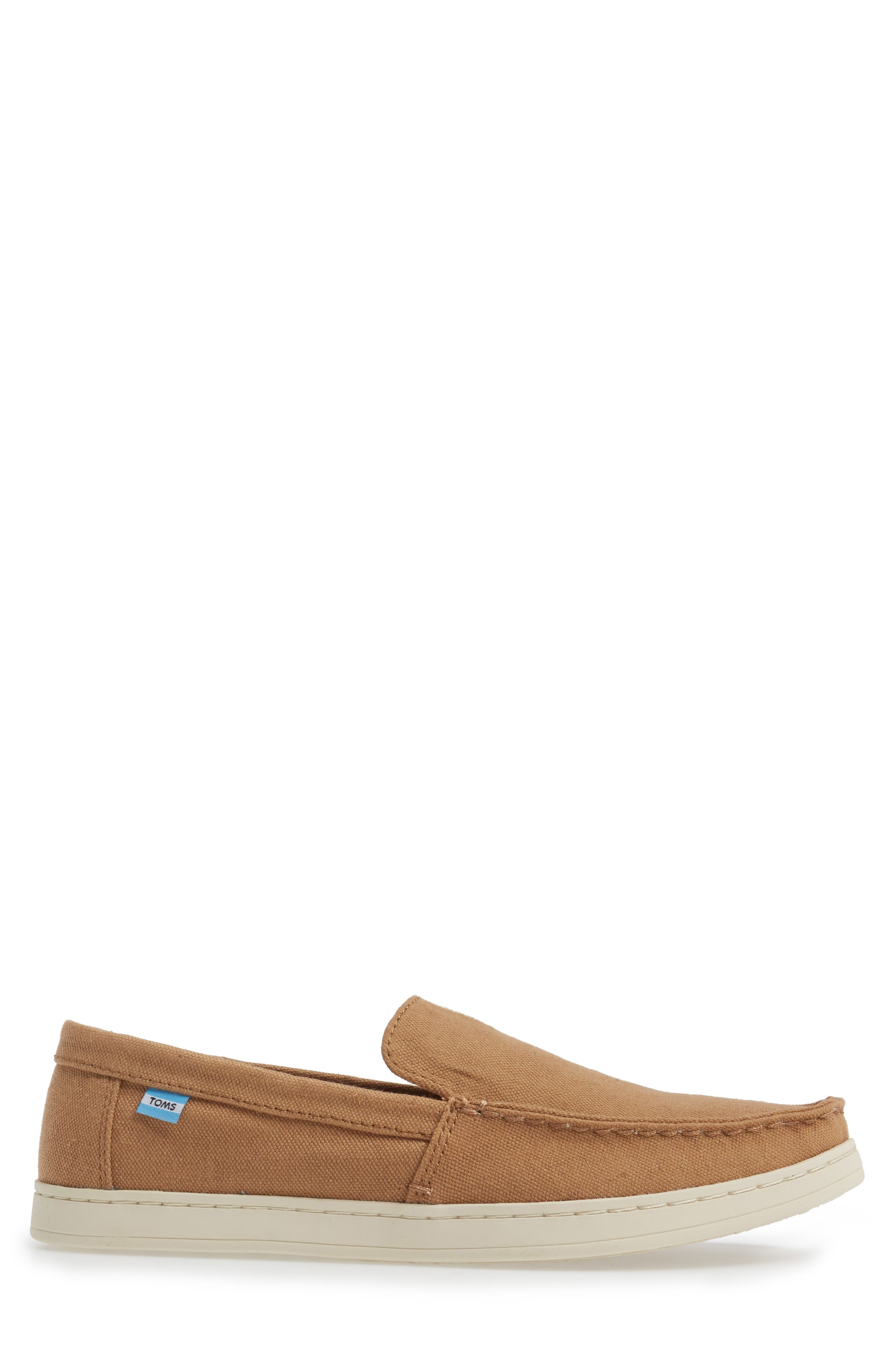 Aiden Slip-On Loafer,                             Alternate thumbnail 3, color,                             Toffee
