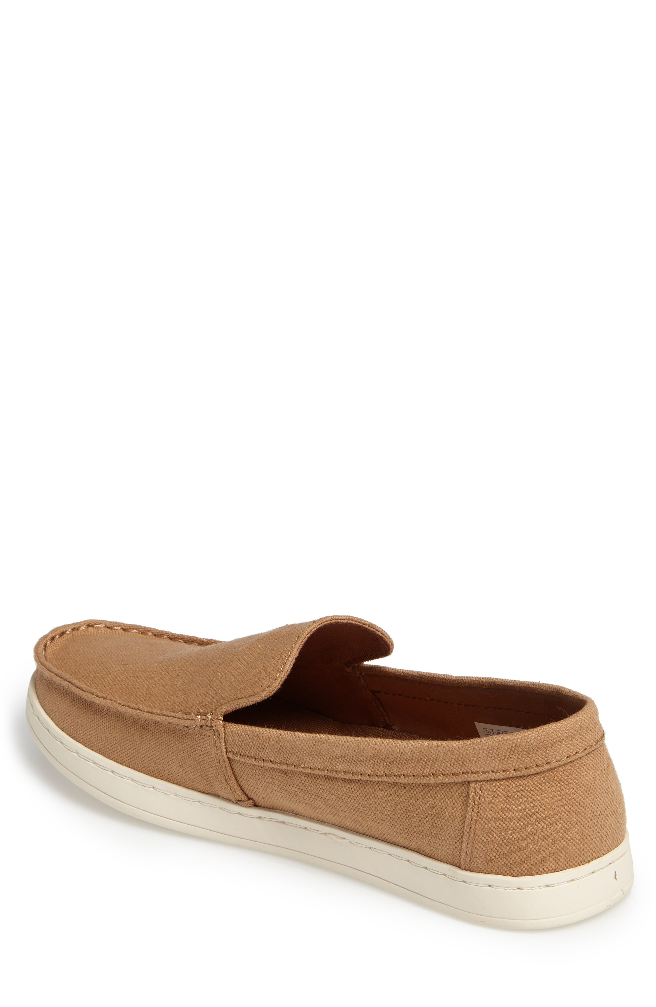 Aiden Slip-On Loafer,                             Alternate thumbnail 2, color,                             Toffee