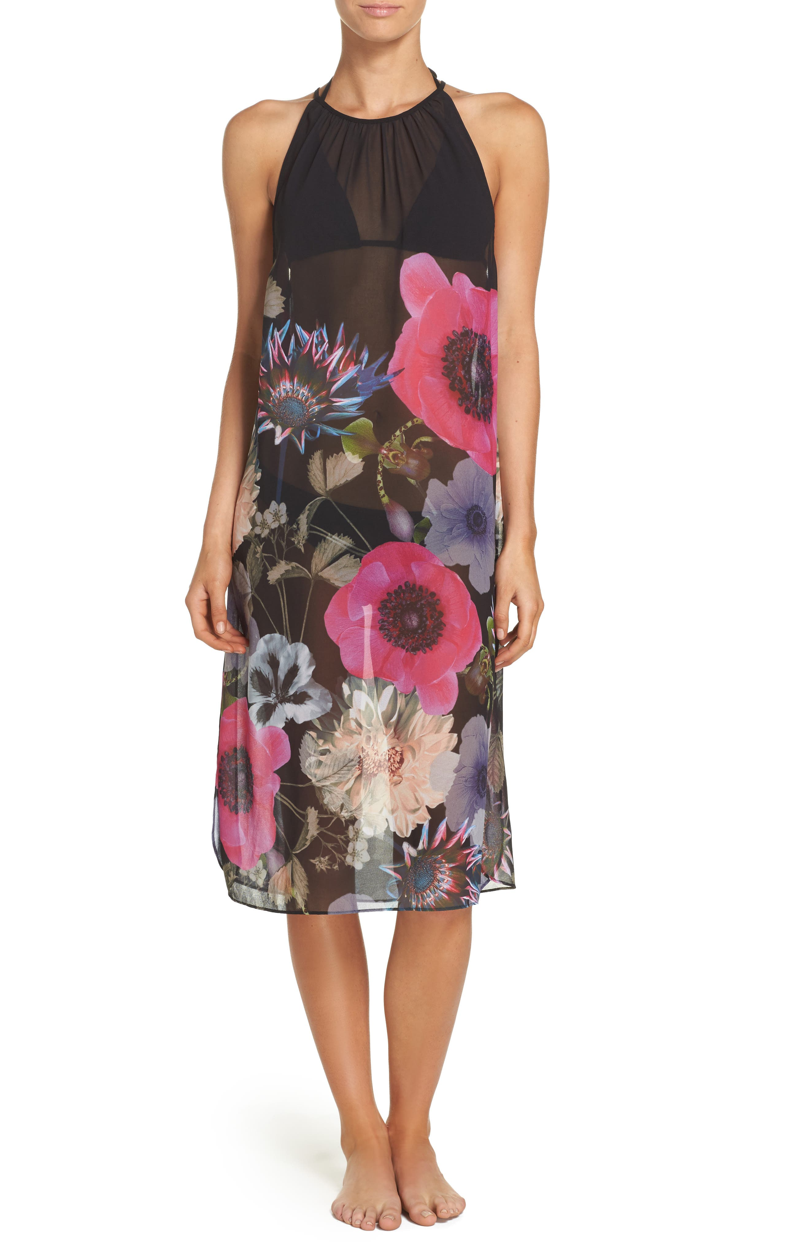 Alternate Image 1 Selected - Ted Baker London Midi Cover-Up Dress