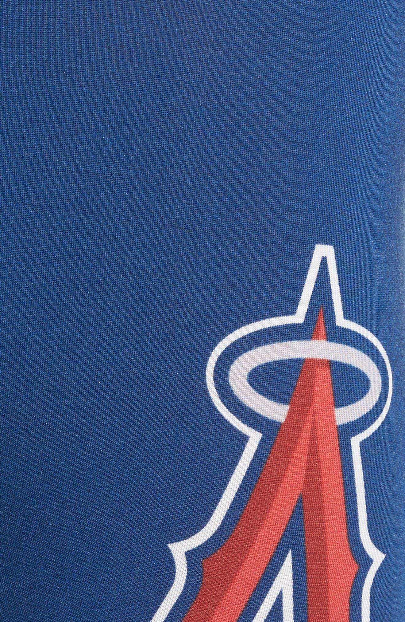 Angels Tie Dye Stretch Modal Boxer Briefs,                             Alternate thumbnail 4, color,                             Blue