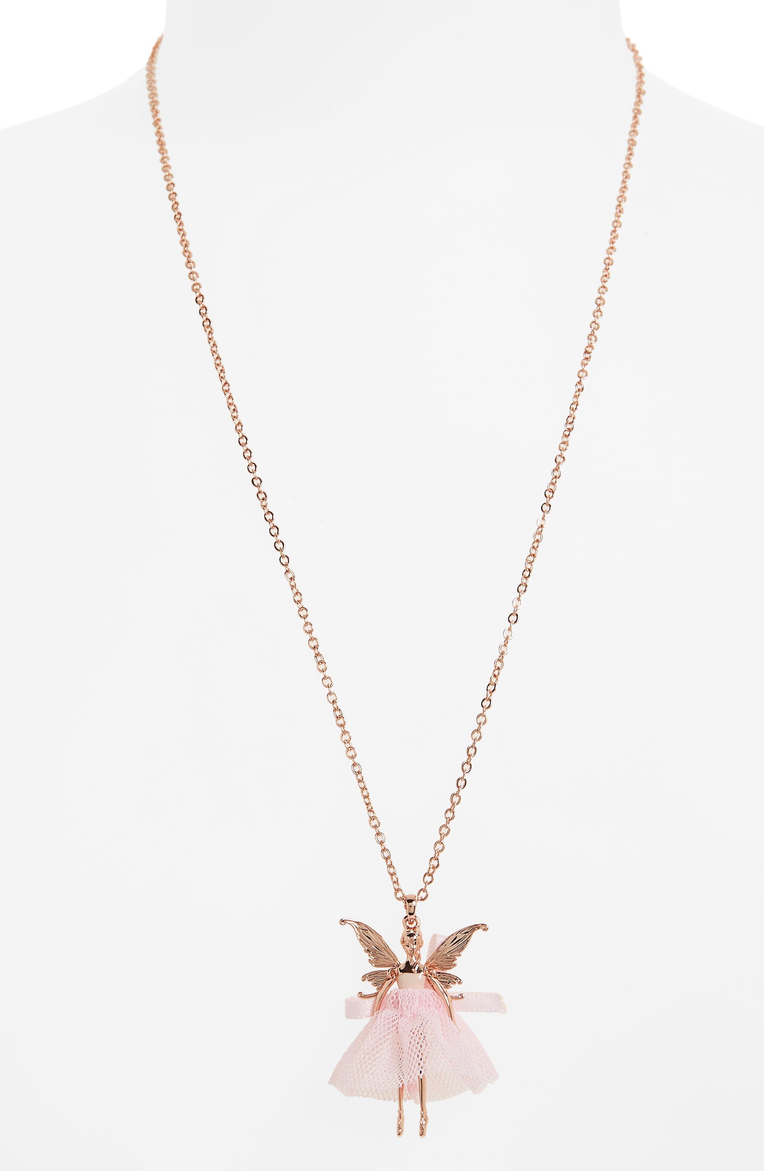 Alternate Image 2  - Ted Baker London Faylinn Mini Fairy Ballerina Necklace