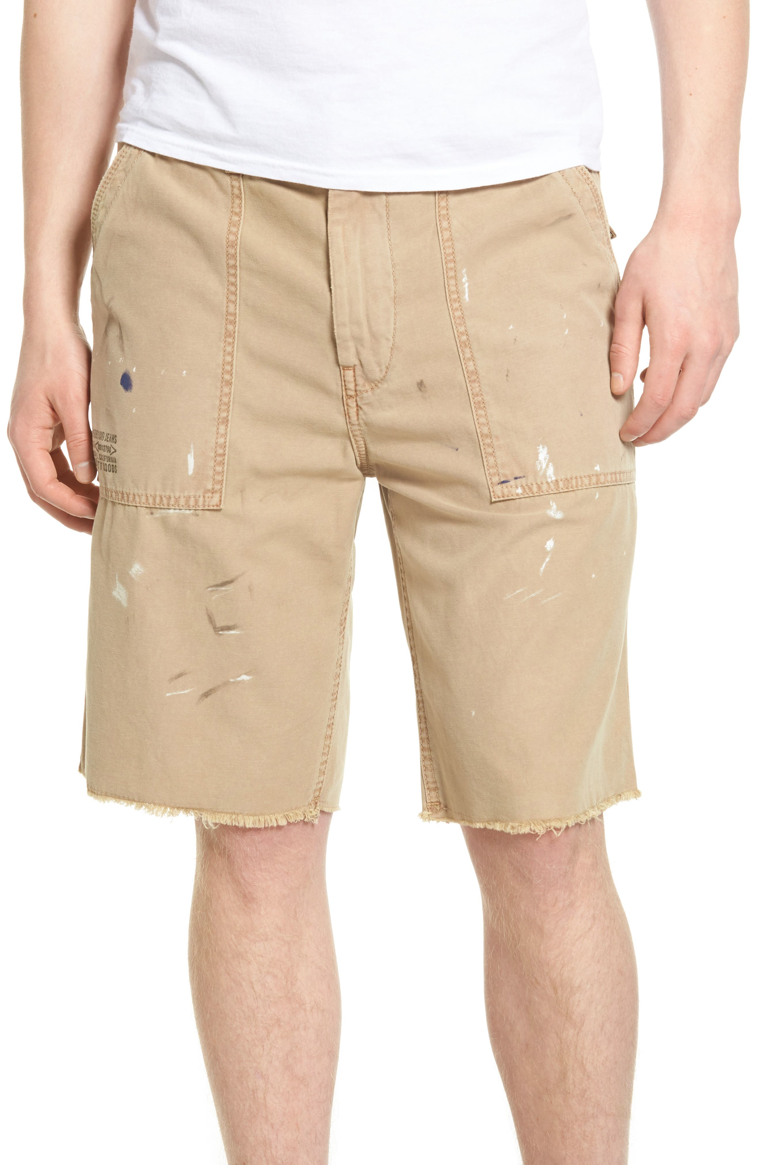 True Religion Brand Jeans Utility Surplus Shorts
