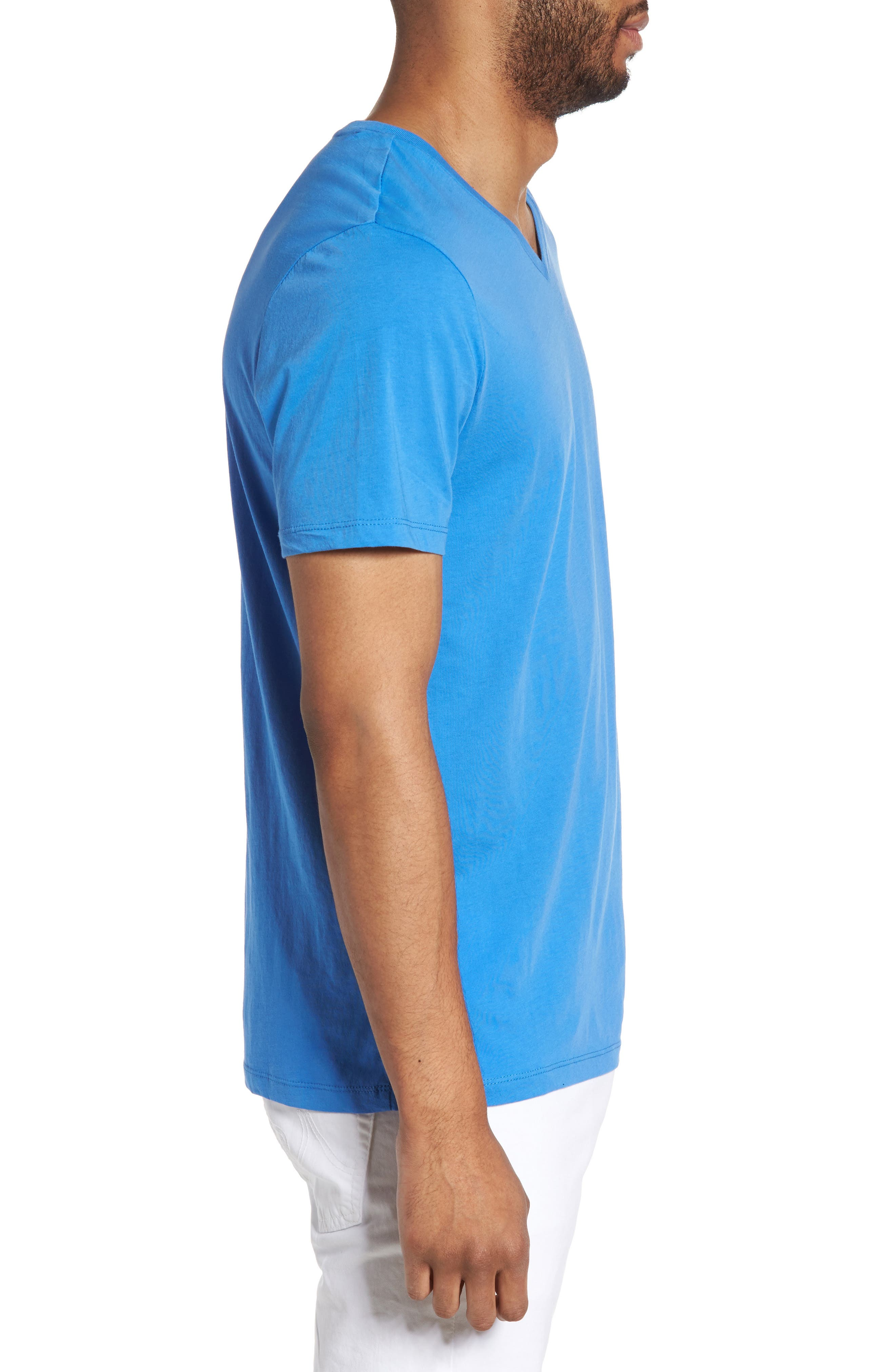Alternate Image 3  - Slate & Stone Slim V-Neck T-Shirt