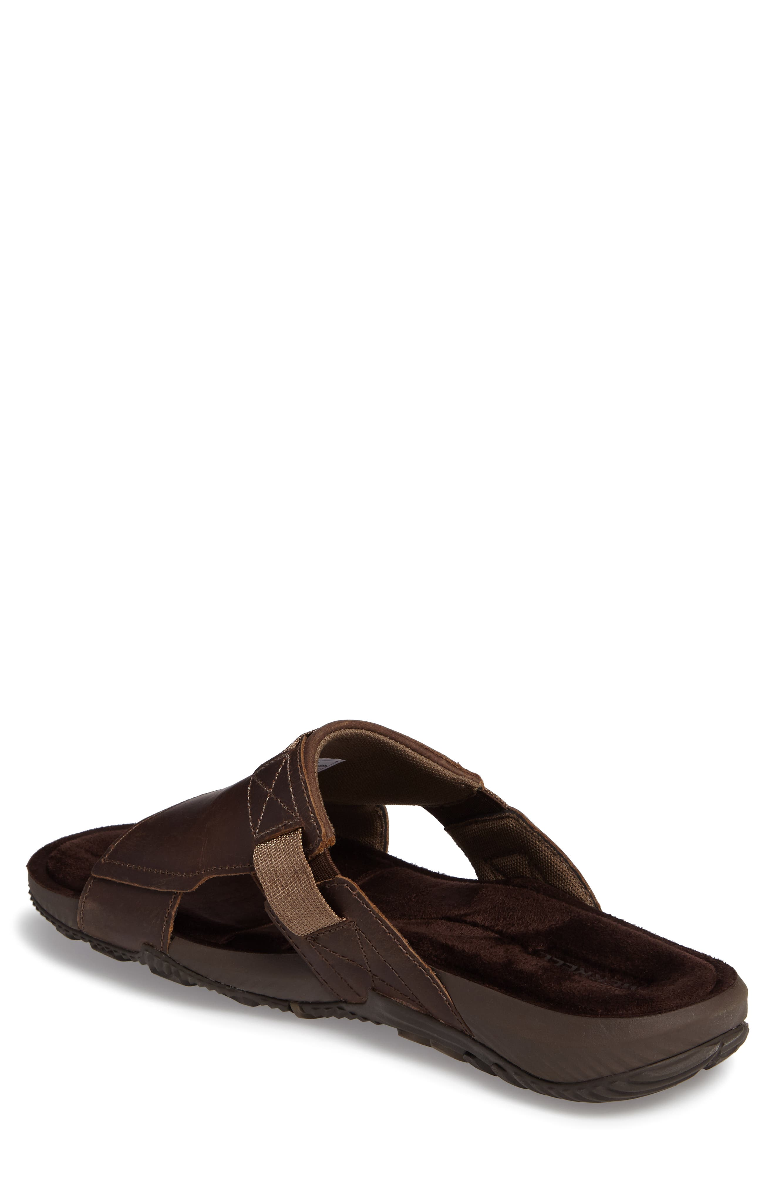 Terrant Slide Sandal,                             Alternate thumbnail 2, color,                             Dark Earth