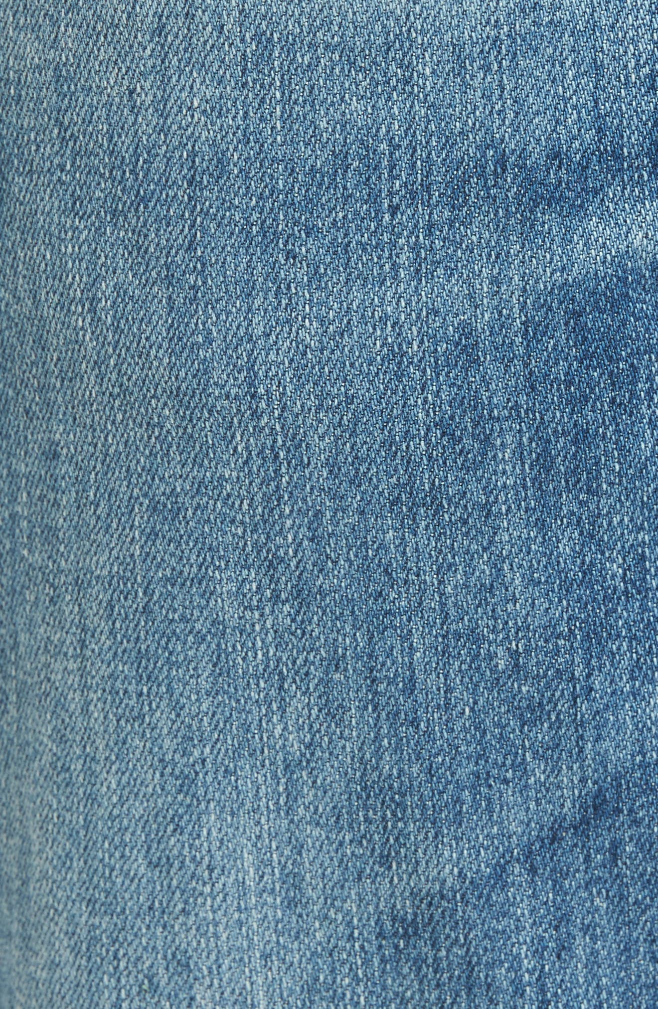 Ives Straight Leg Jeans,                             Alternate thumbnail 5, color,                             16 Years Broken Ground