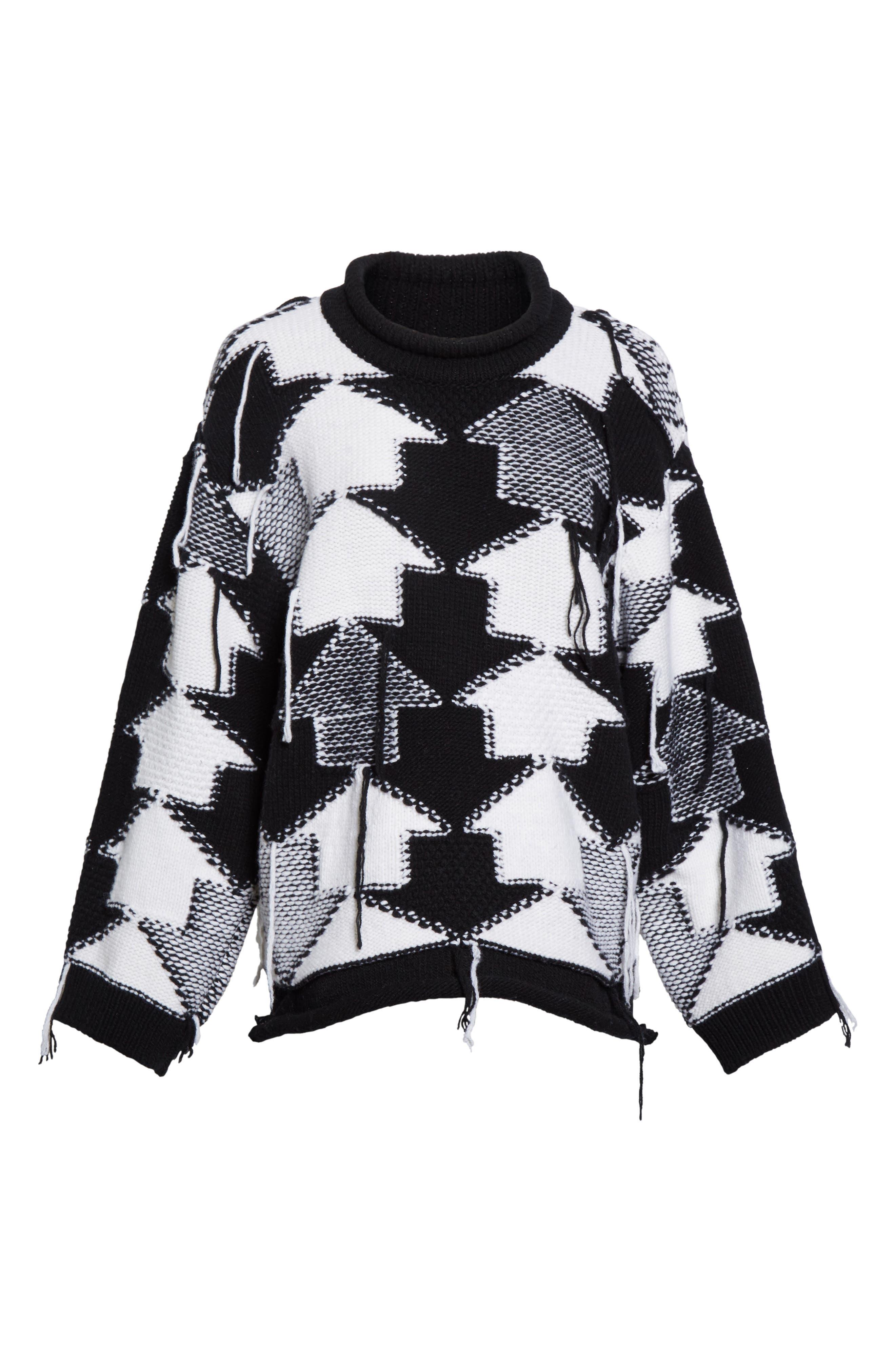 Alternate Image 4  - Stella McCartney Arrow Intarsia Wool Sweater