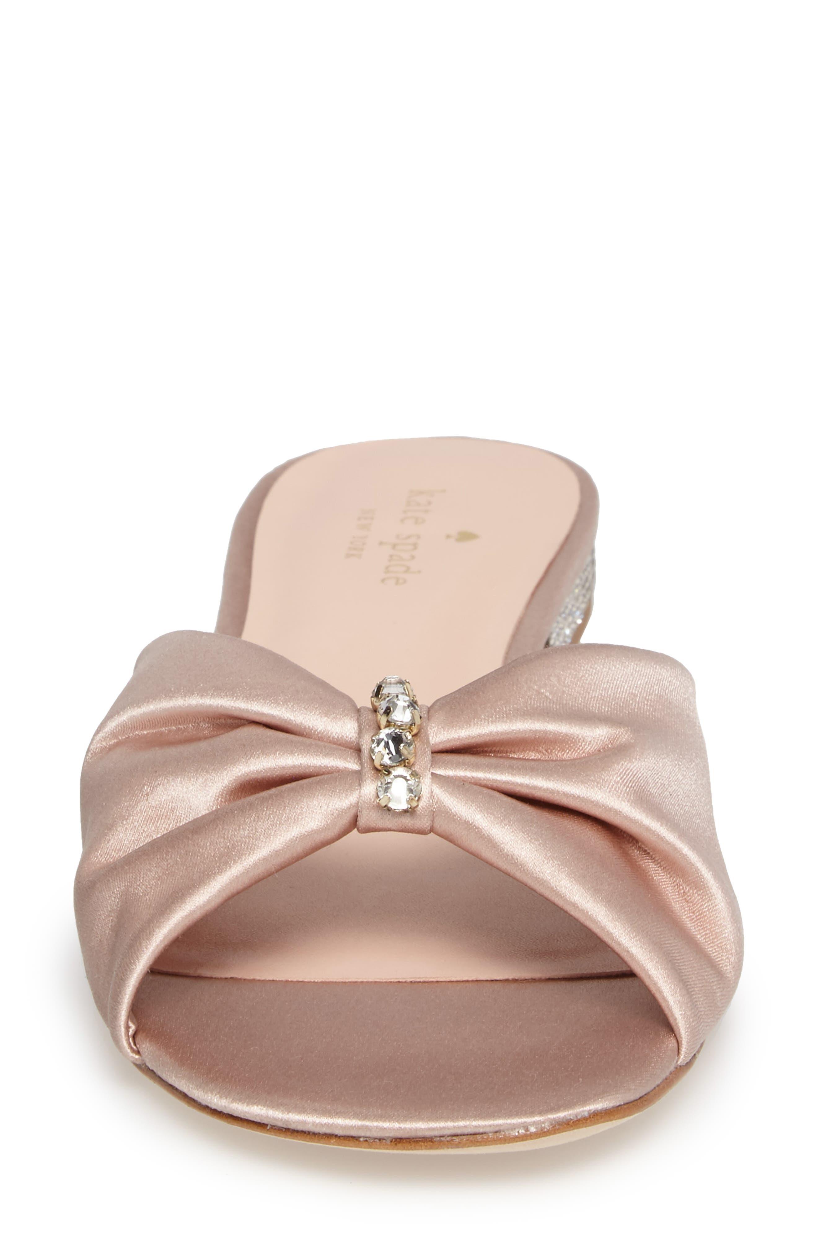 fenton slide sandal,                             Alternate thumbnail 4, color,                             Pink Champagne