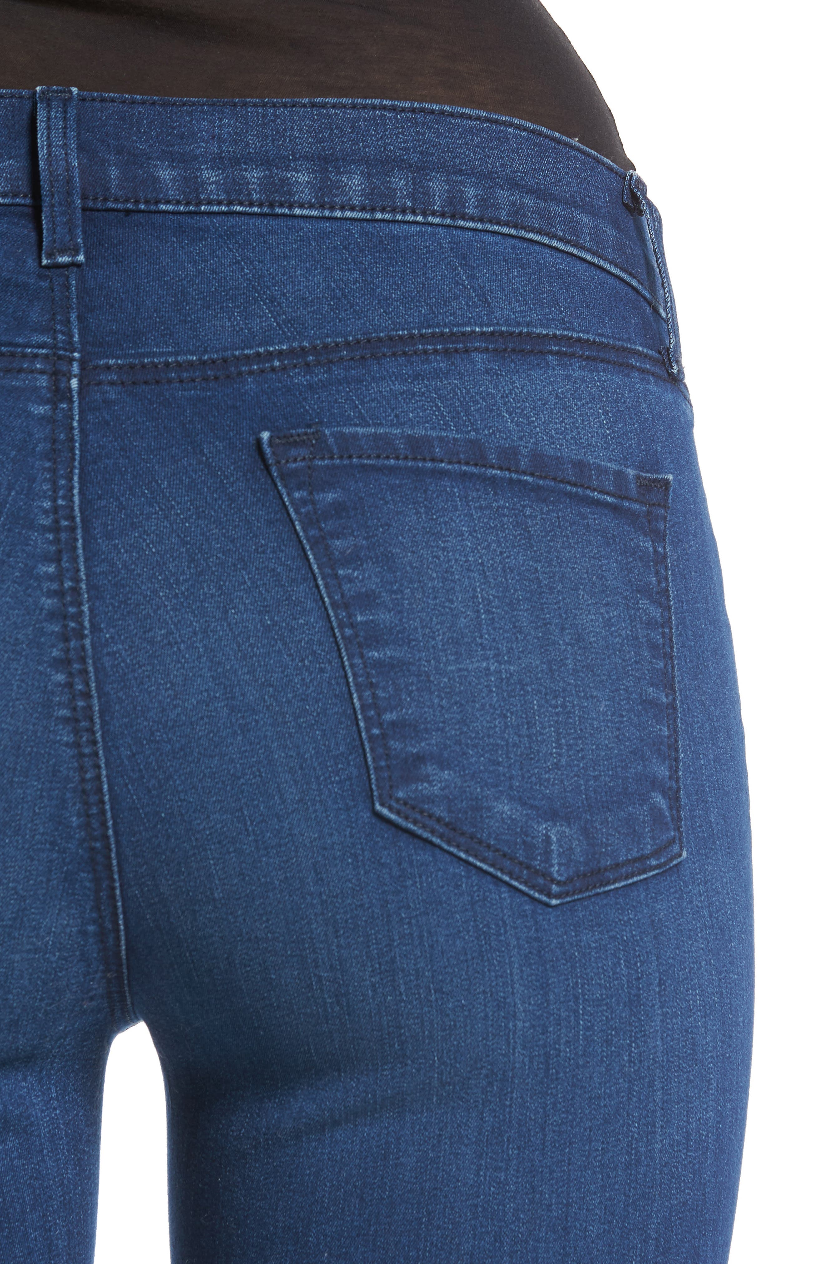 '811' Ankle Skinny Jeans,                             Alternate thumbnail 4, color,                             Sway
