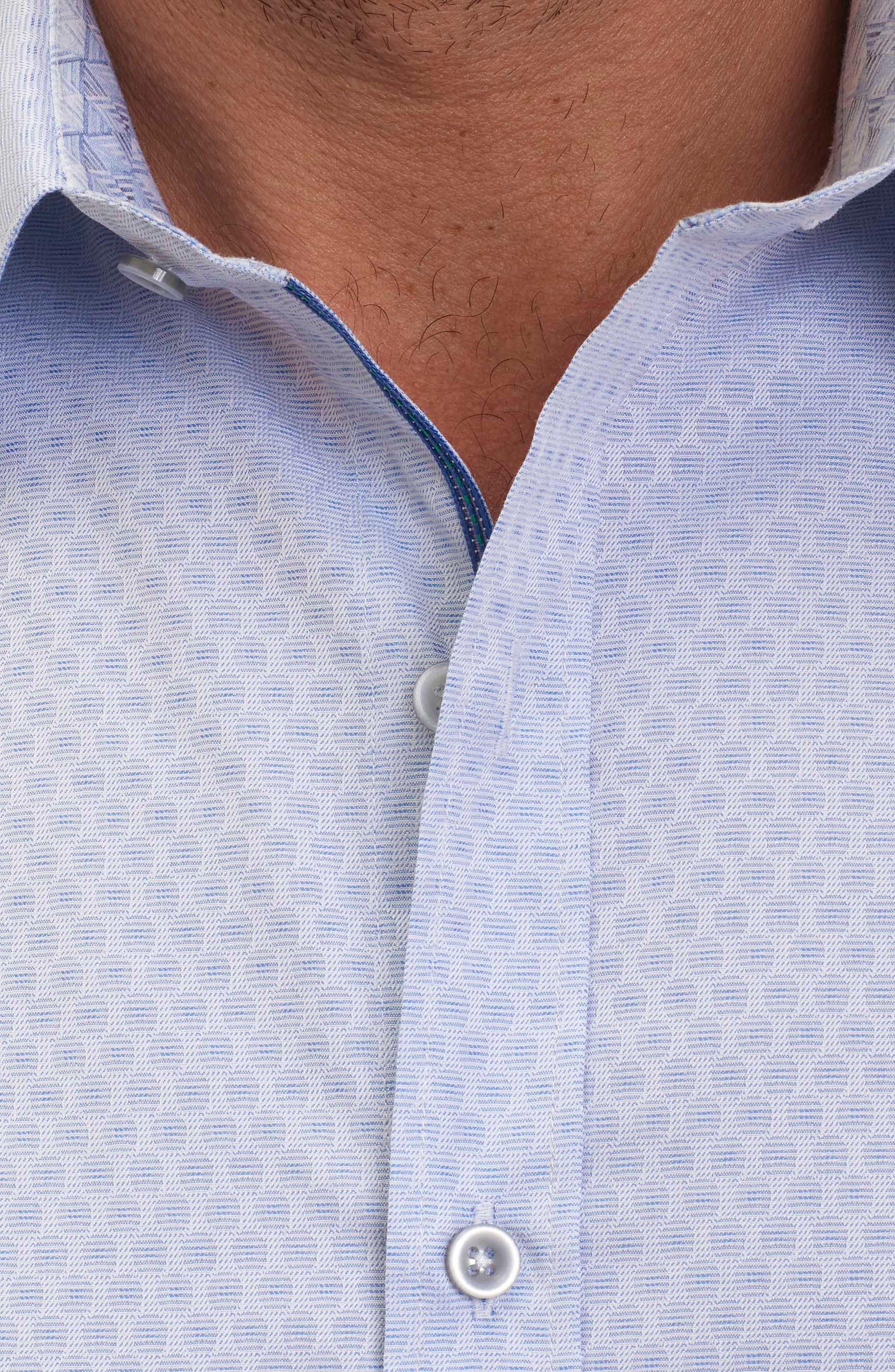 Alternate Image 5  - Robert Graham Classic Fit Print Sport Shirt