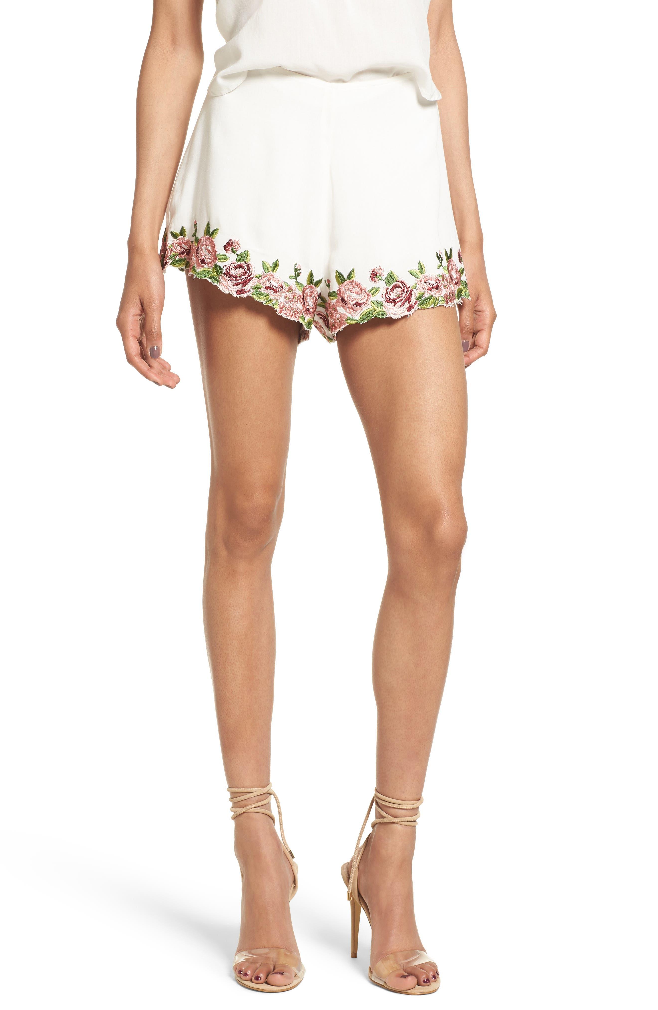 SHOW ME YOUR MUMU High Waist Ashton Shorts