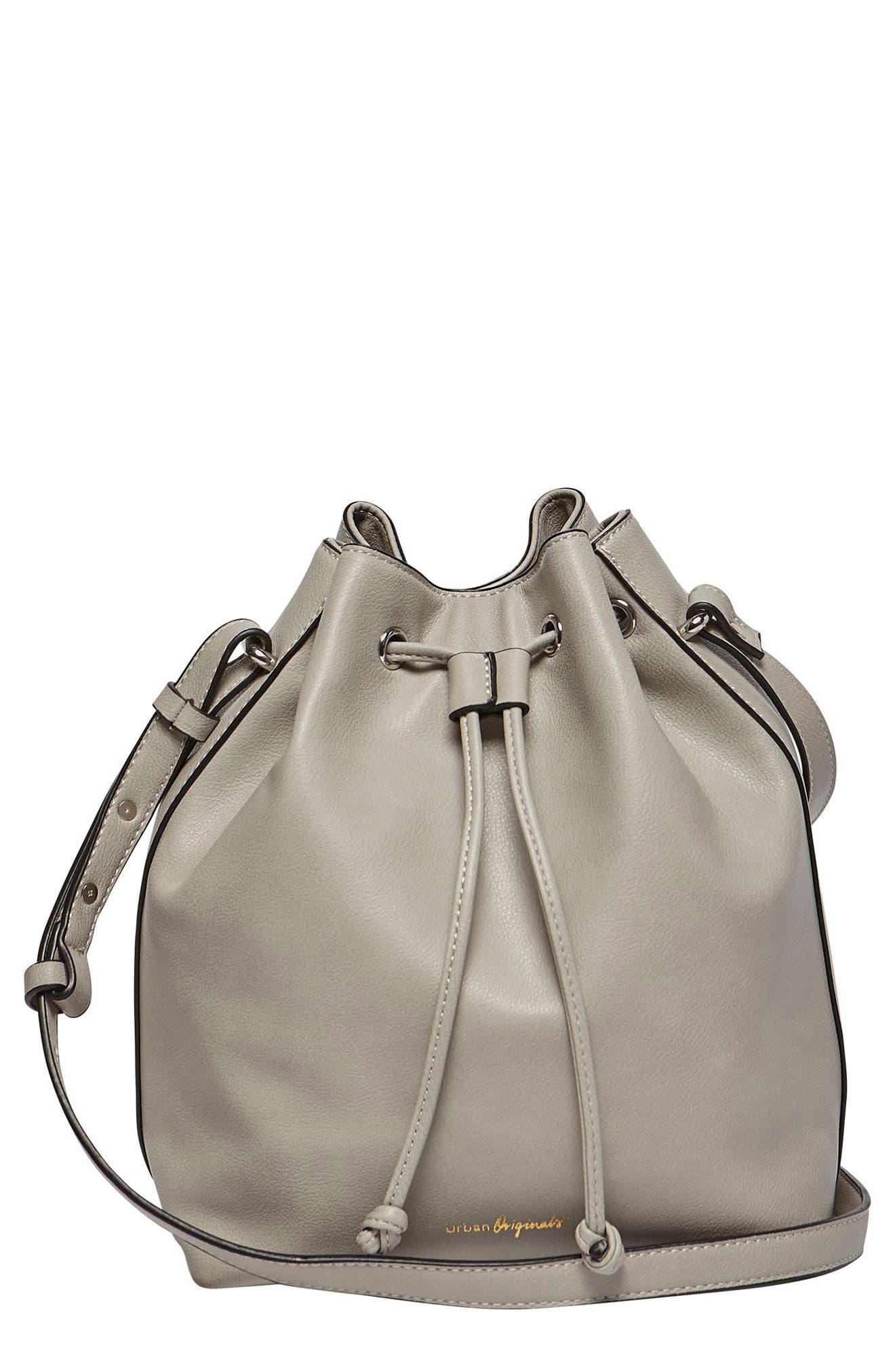 Alternate Image 1 Selected - Urban Originals Take Me Home Vegan Leather Bag