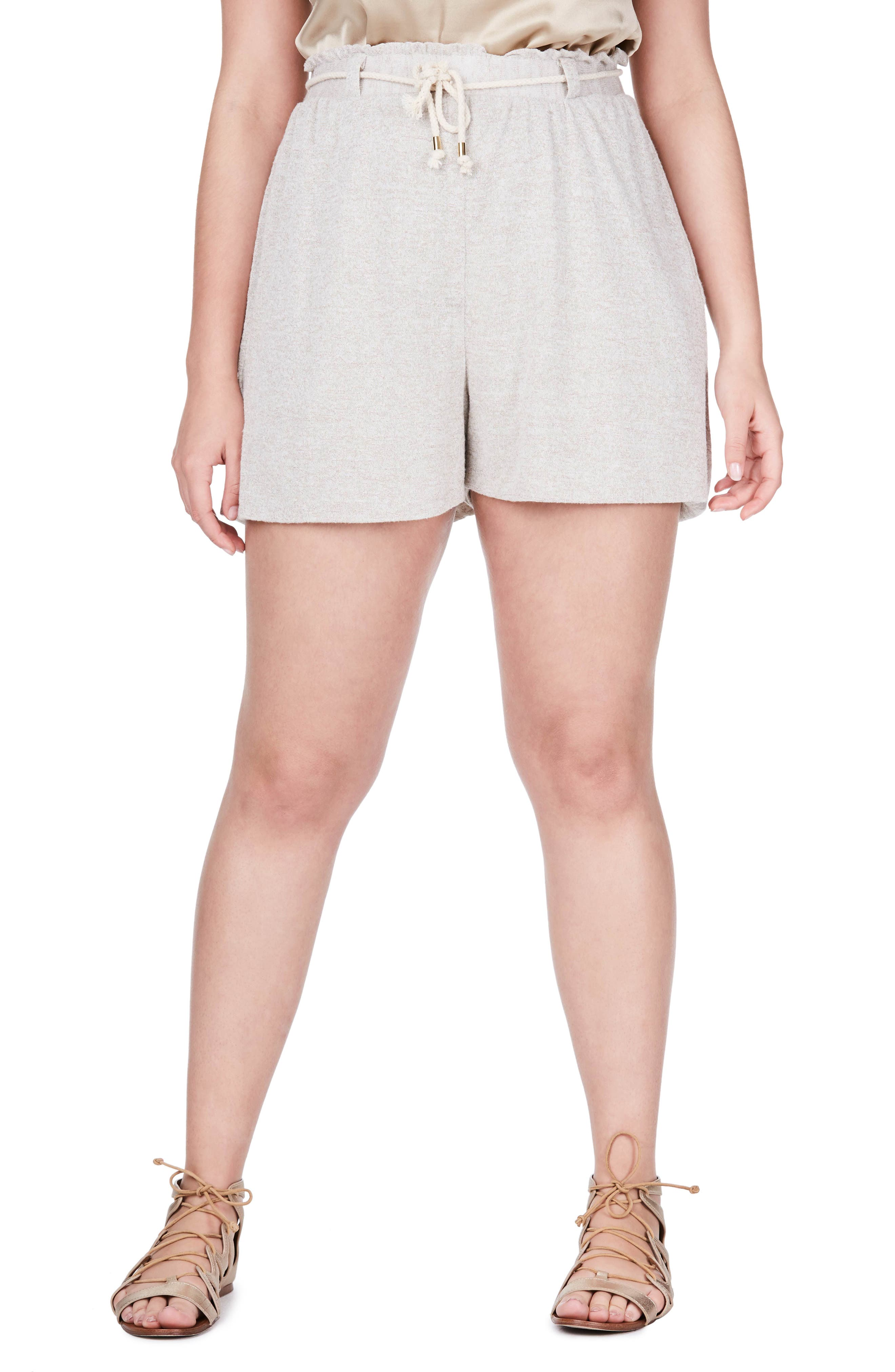 ELVI Jersey Shorts (Plus Size)