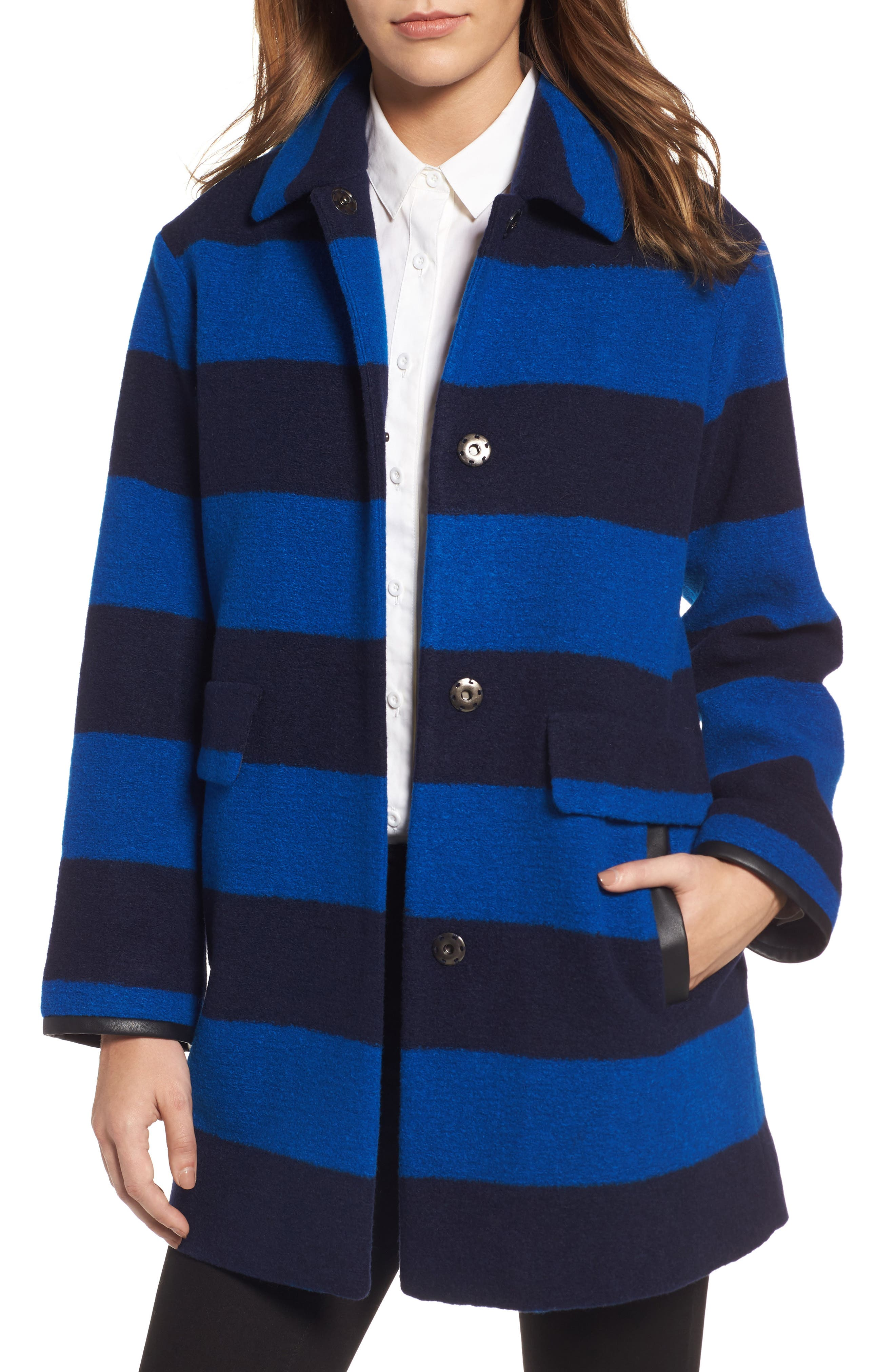 Pendleton Paul Bunyan Plaid Wool Blend Barn Coat