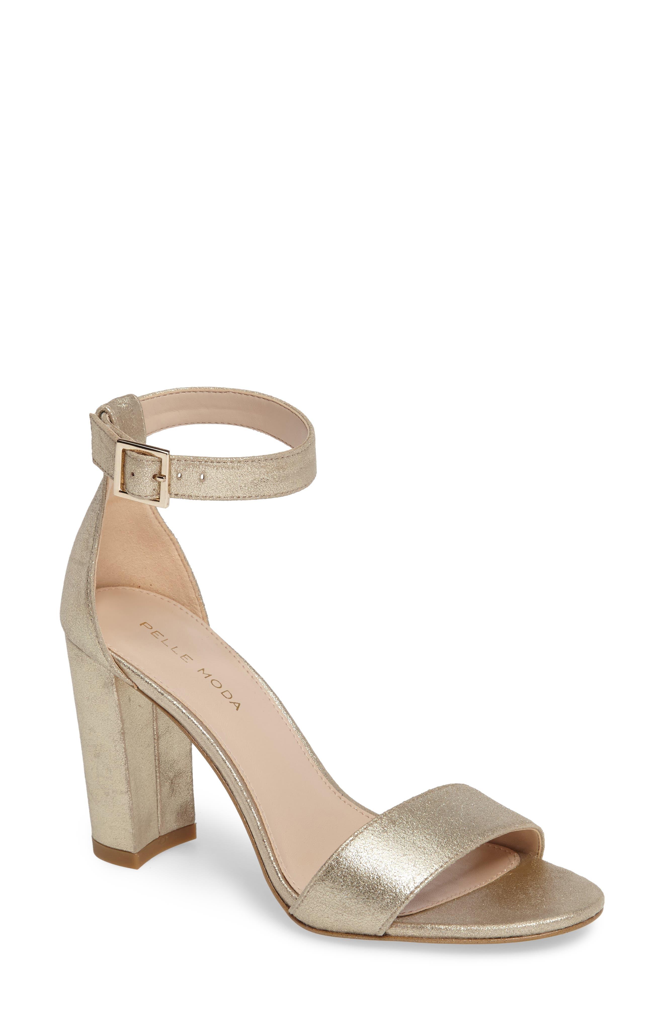 Alternate Image 1 Selected - Pelle Moda 'Bonnie' Ankle Strap Sandal (Women)