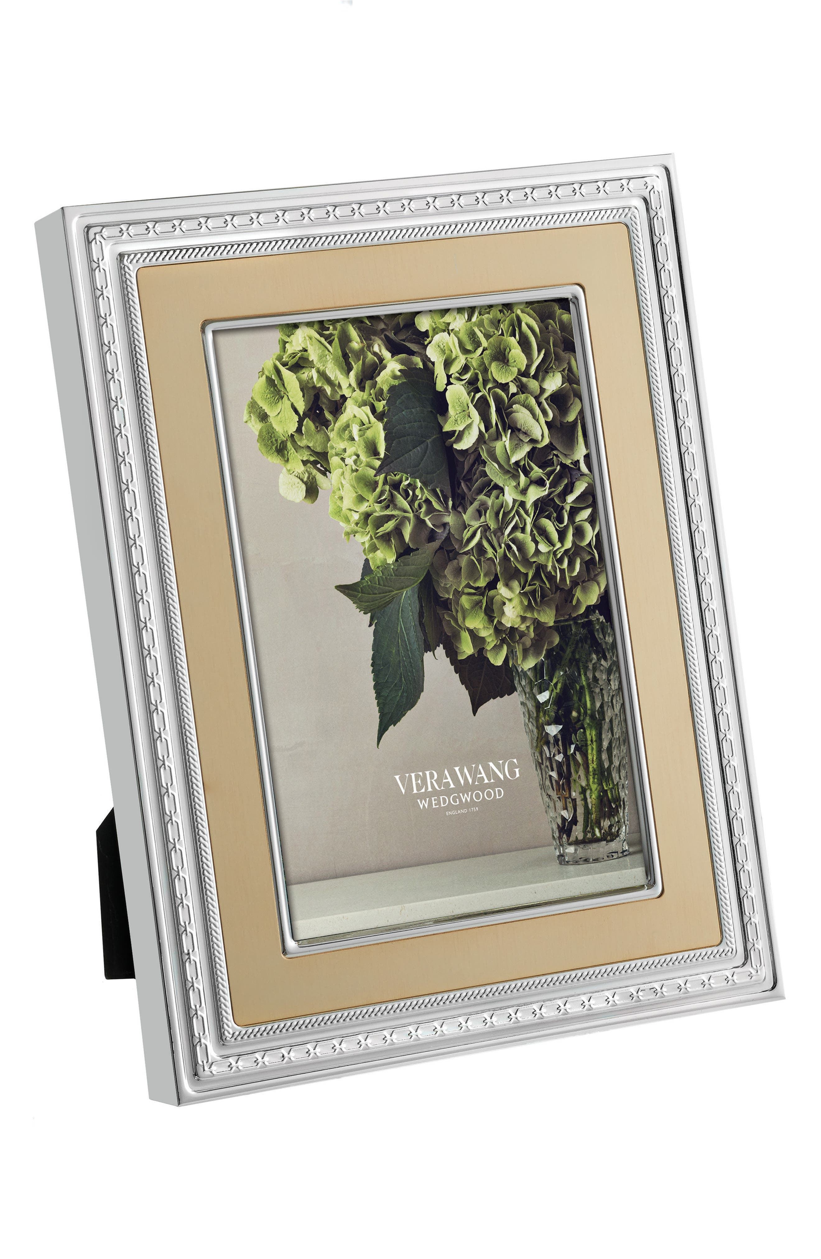 x Wedgwood With Love Picture Frame,                             Alternate thumbnail 2, color,                             Metallic Silver